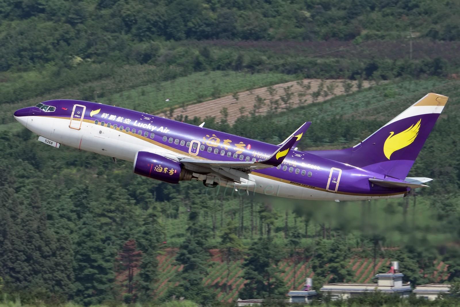 Re:[原创]=====有空就要来几发,不能懈怠===== BOEING 737-700 B-5268 中国昆明长水国际机场