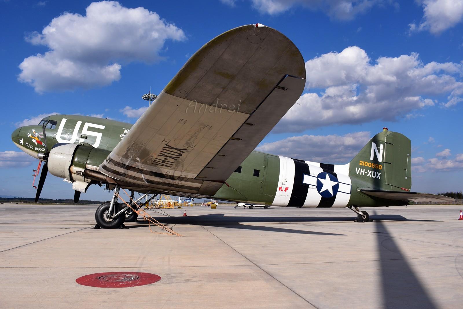 Re:[原创]=====有空就要来几发,不能懈怠===== C-47A VH-XUX 中国昆明长水国际机场