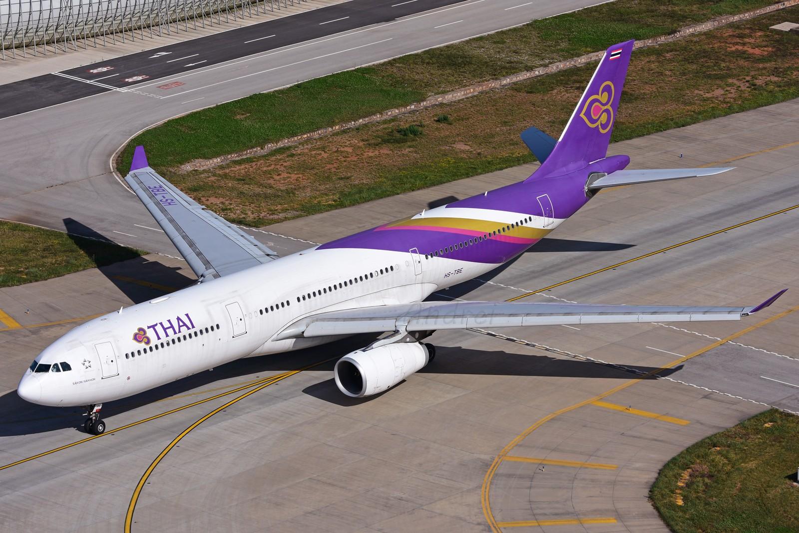 Re:=====有空就要来几发,不能懈怠===== AIRBUS A330-300 HS-TBE 中国昆明长水国际机场
