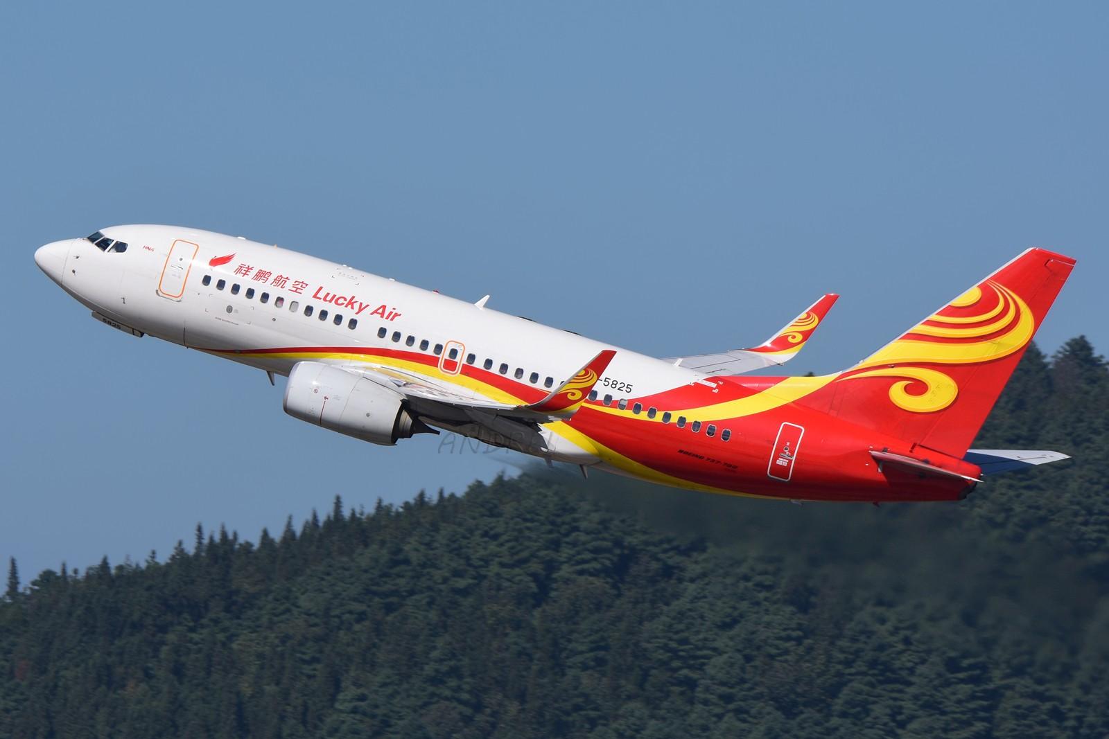 Re:[原创]=====有空就要来几发,不能懈怠===== BOEING 737-700 B-5825 中国昆明长水国际机场