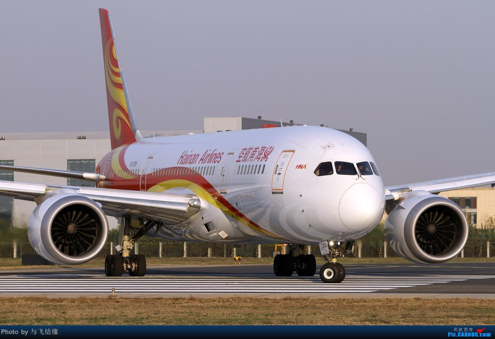 "Re:[原创]""影""!特写几图。 BOEING 787-8 B-2759 中国北京首都国际机场"