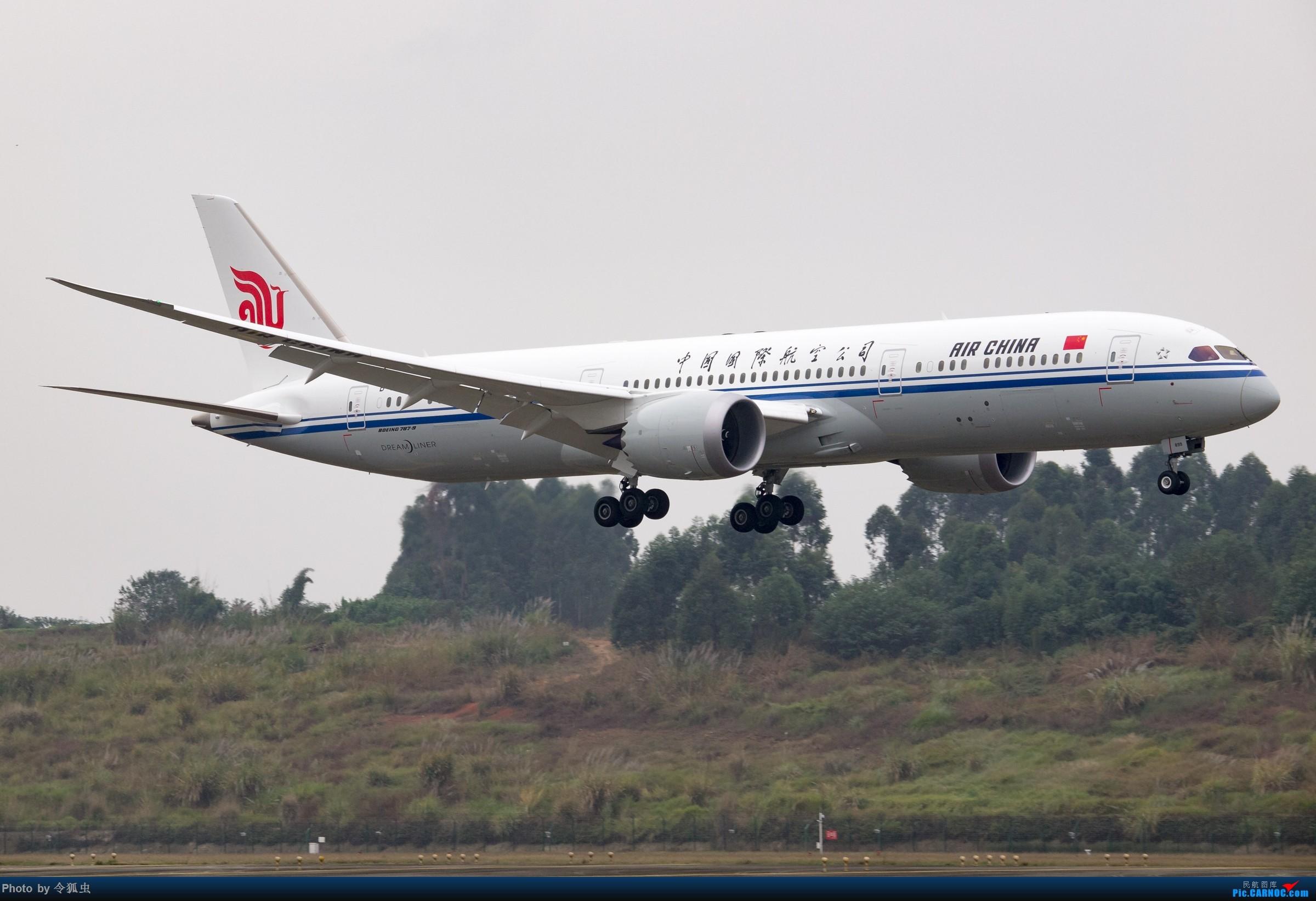 re:[原创]【ctu】国航b-7899_789降落组图 boeing 787-9 b-7899 中国