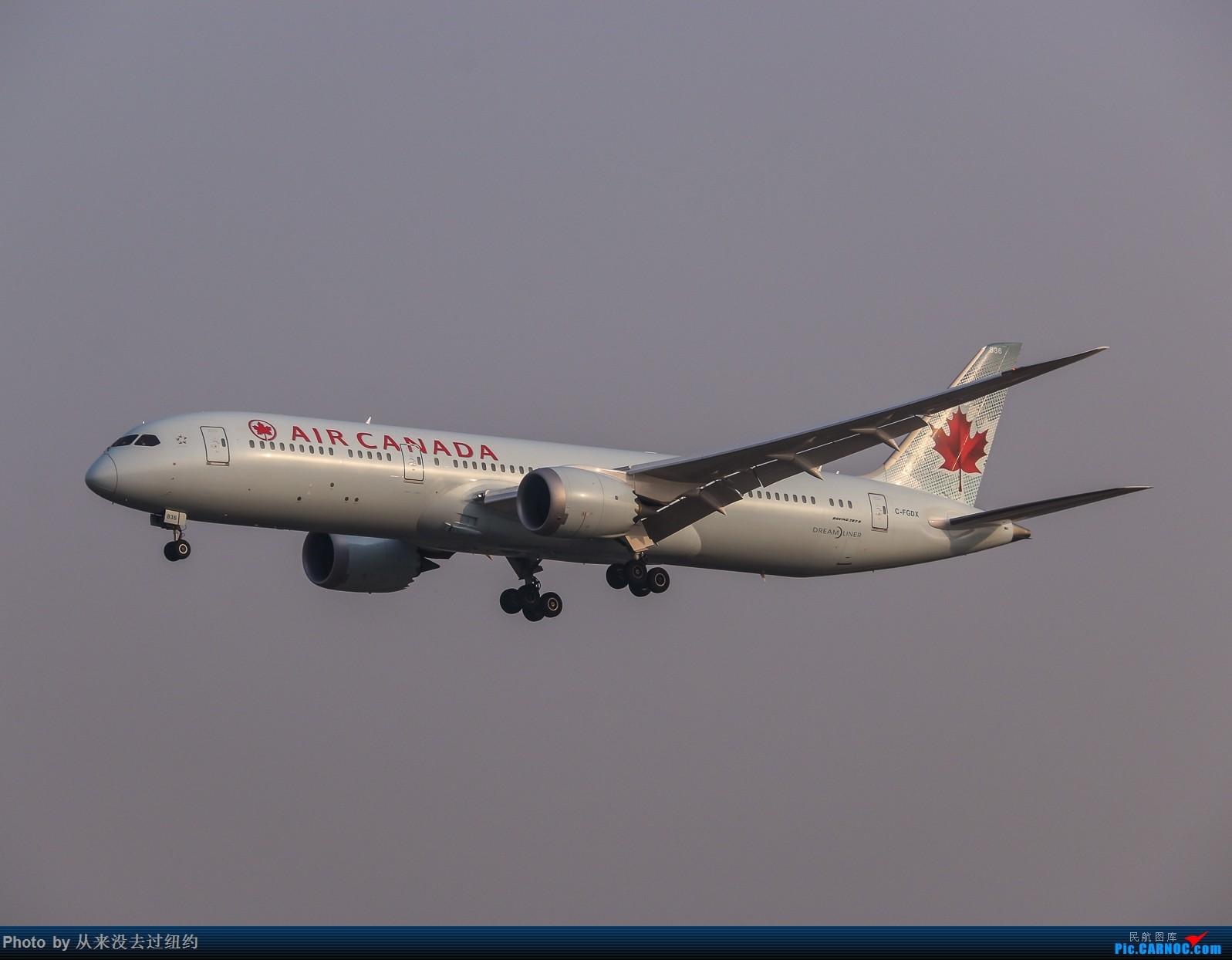 [原创]加航789 BOEING 787-9 C-FGDX 北京首都国际机场