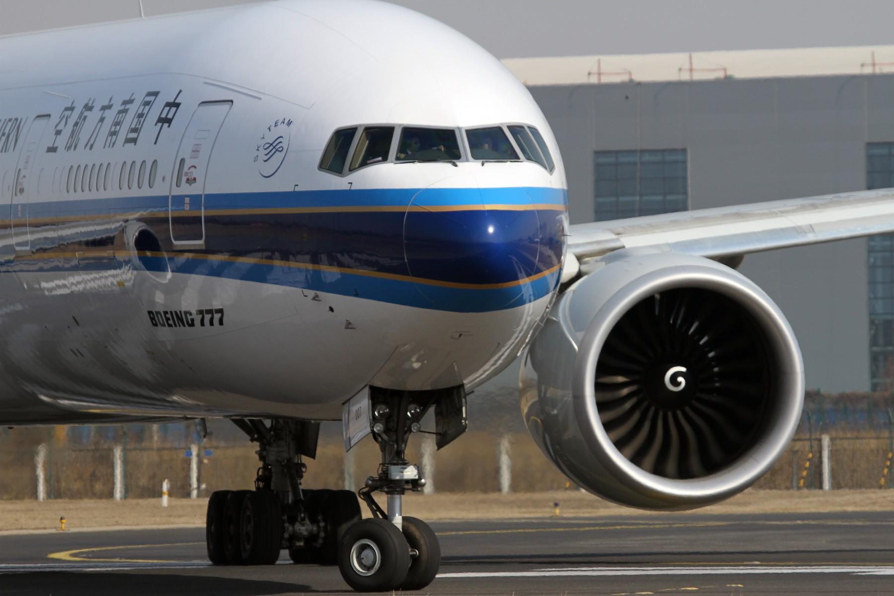 Re:[原创]南方航空Boeing 777-300ER组图。 BOEING 777-300ER B-2007 中国北京首都国际机场