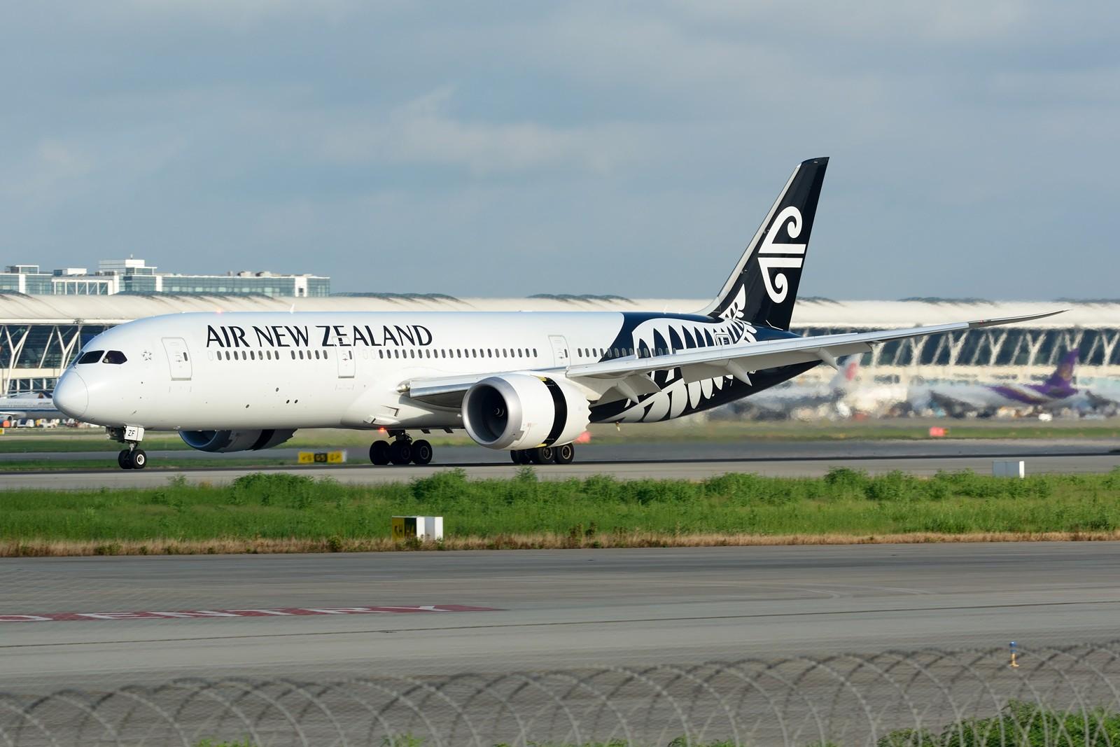 Re:[原创]【PVG】夏日东跑一组~~ BOEING 787-9 ZK-NZF 中国上海浦东国际机场
