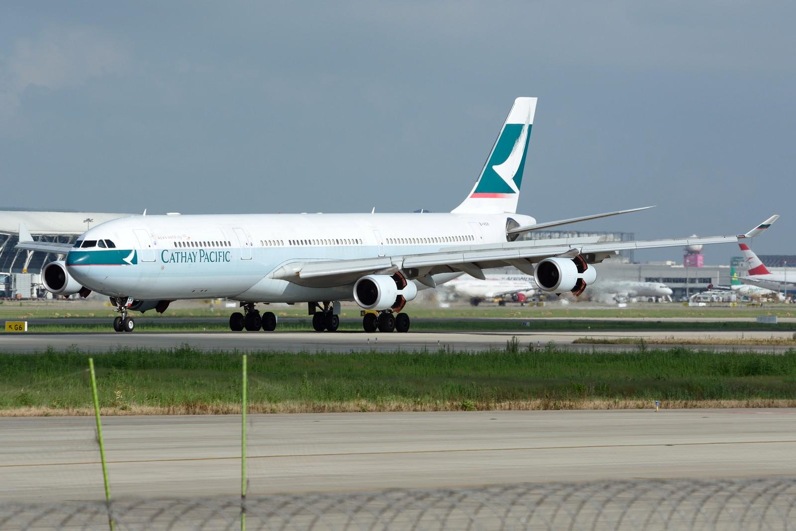 Re:[原创]【PVG】夏日东跑一组~~ AIRBUS A340-300 B-HXH 中国上海浦东国际机场