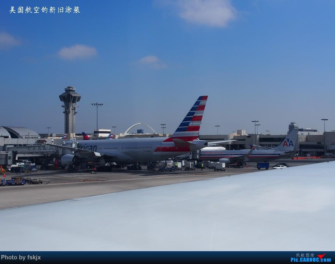 【fskjx的飞行游记☆35】冲出亚洲 踏足美利坚(上) BOEING 777-200 N792AN 美国洛杉矶机场