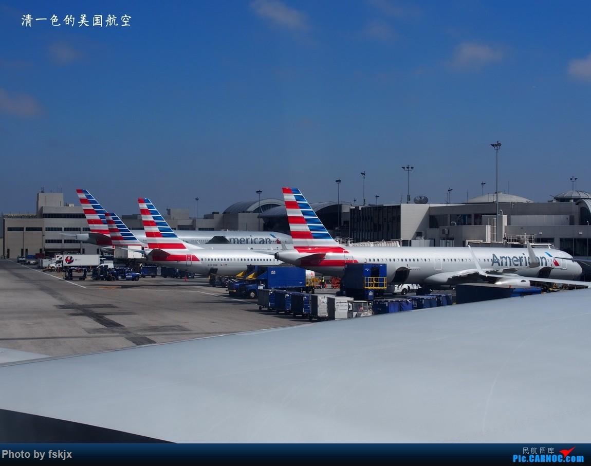 【fskjx的飞行游记☆35】冲出亚洲 踏足美利坚(上) BOEING 737-800 N962NN 美国洛杉矶机场