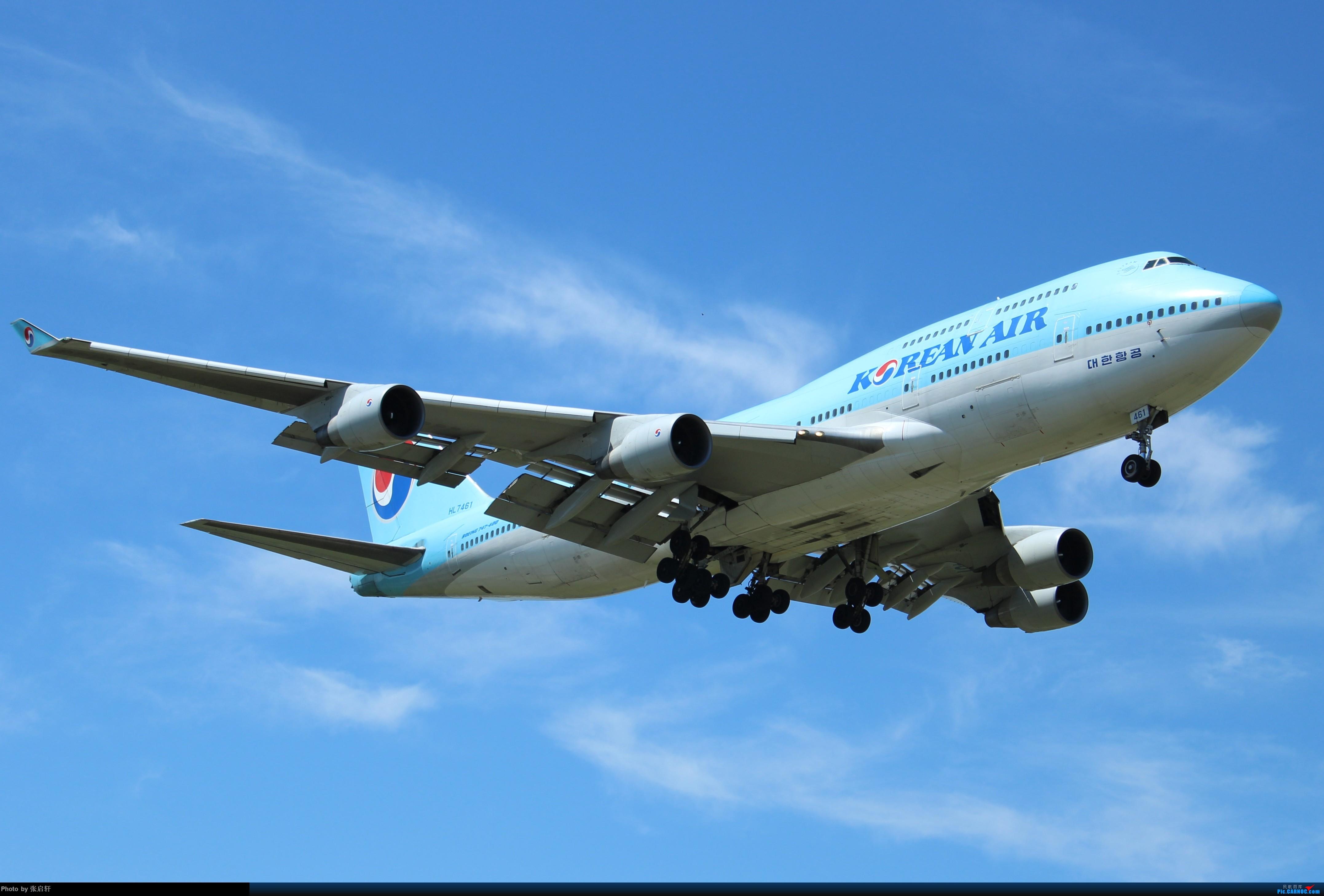 [原创]大韩航空B747-400 BOEING 747-400 HL7461 北京首都国际机场