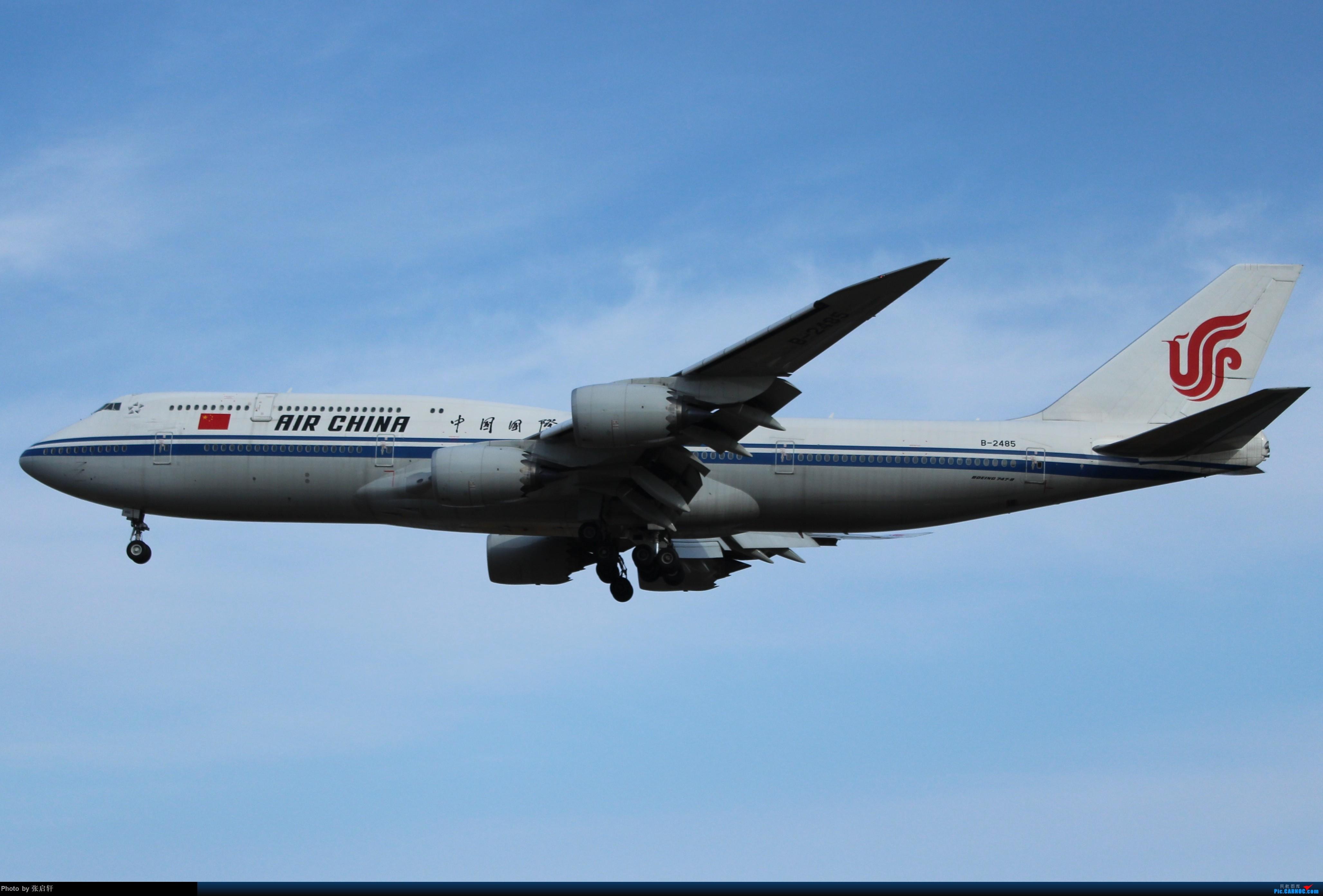 [原创]中国国际航空公司B747-8 BOEING 747-8I B-2485 北京首都国际机场