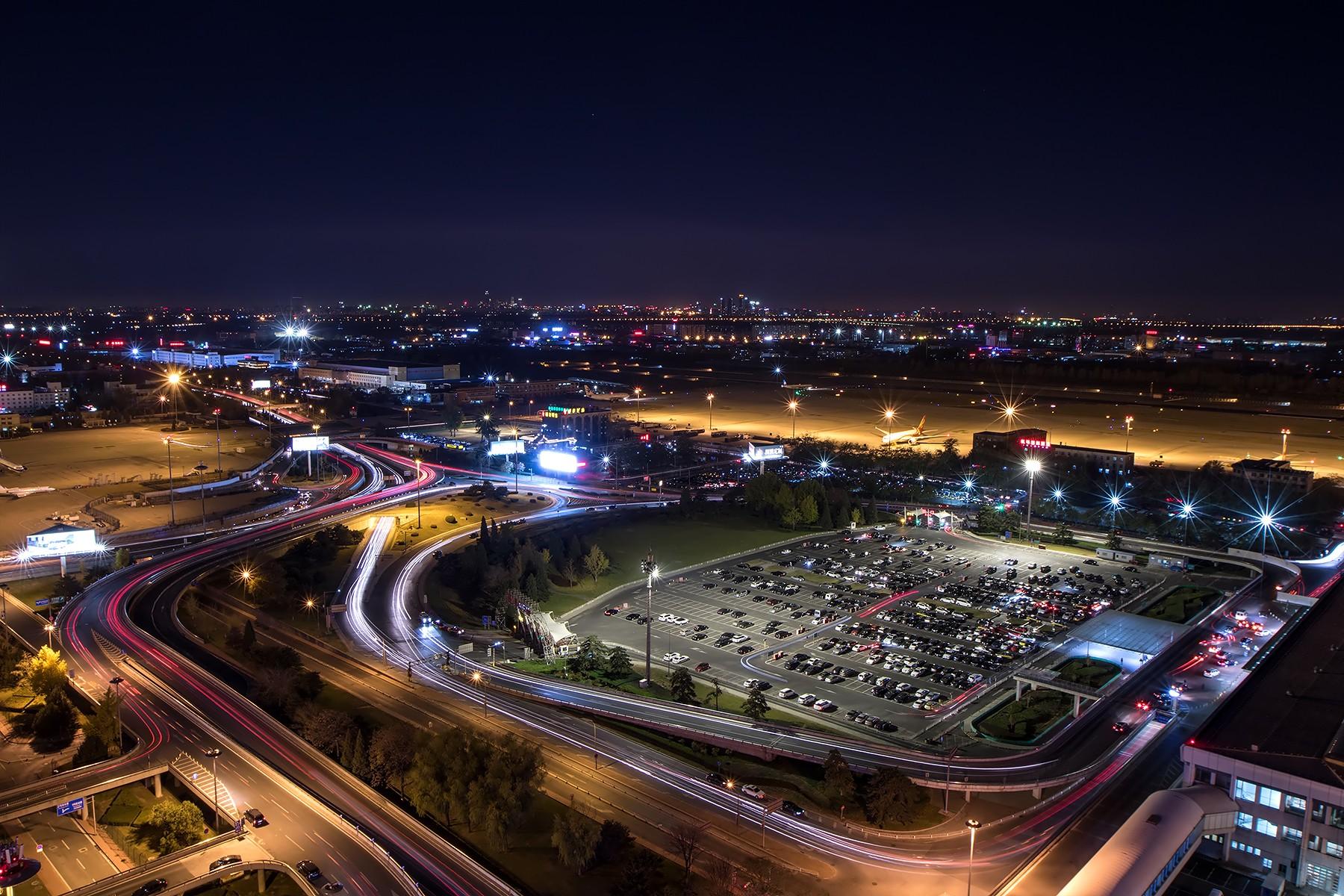 [原创]**一图党**夜,北京~    中国北京首都国际机场