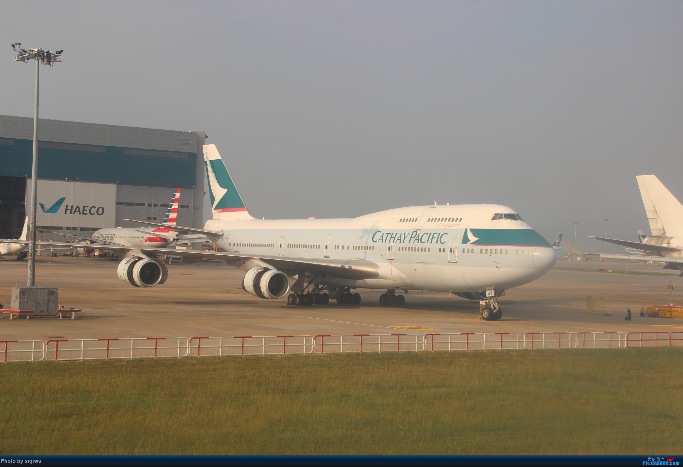 Re:[原创]PVG-HKG-KUL-HKG-PVG 四天往返,CX/KA BOEING 747-400  中国香港国际机场
