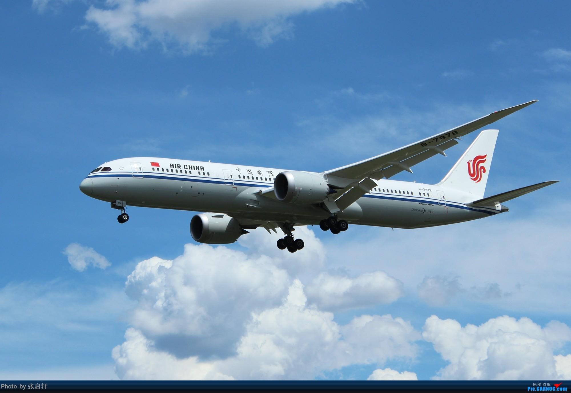 [原创]国航第二架B787-9 BOEING 787-9 B-7878 北京首都国际机场