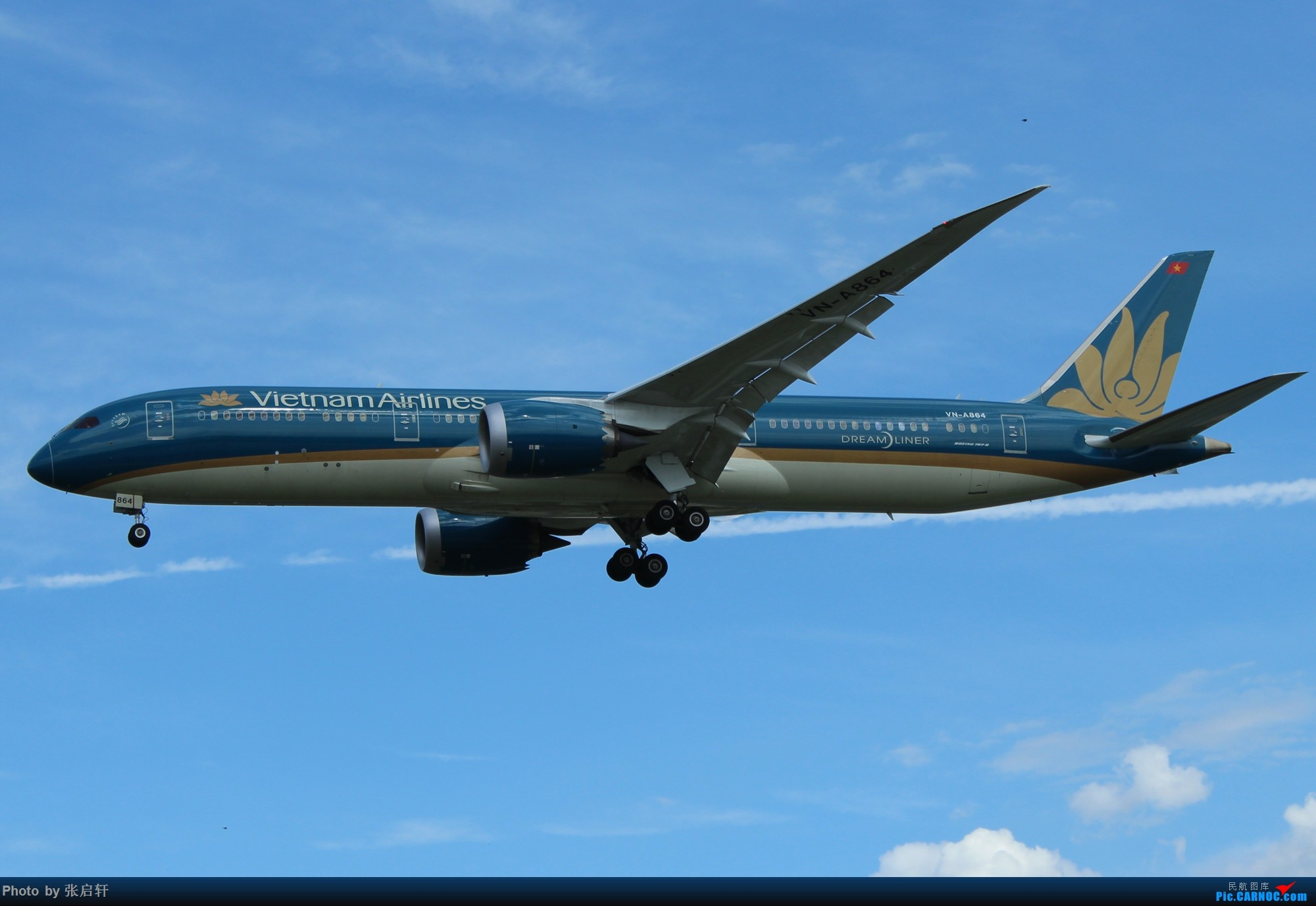 [原创]越南航空B787-9 BOEING 787-9 VN-A864 北京首都国际机场