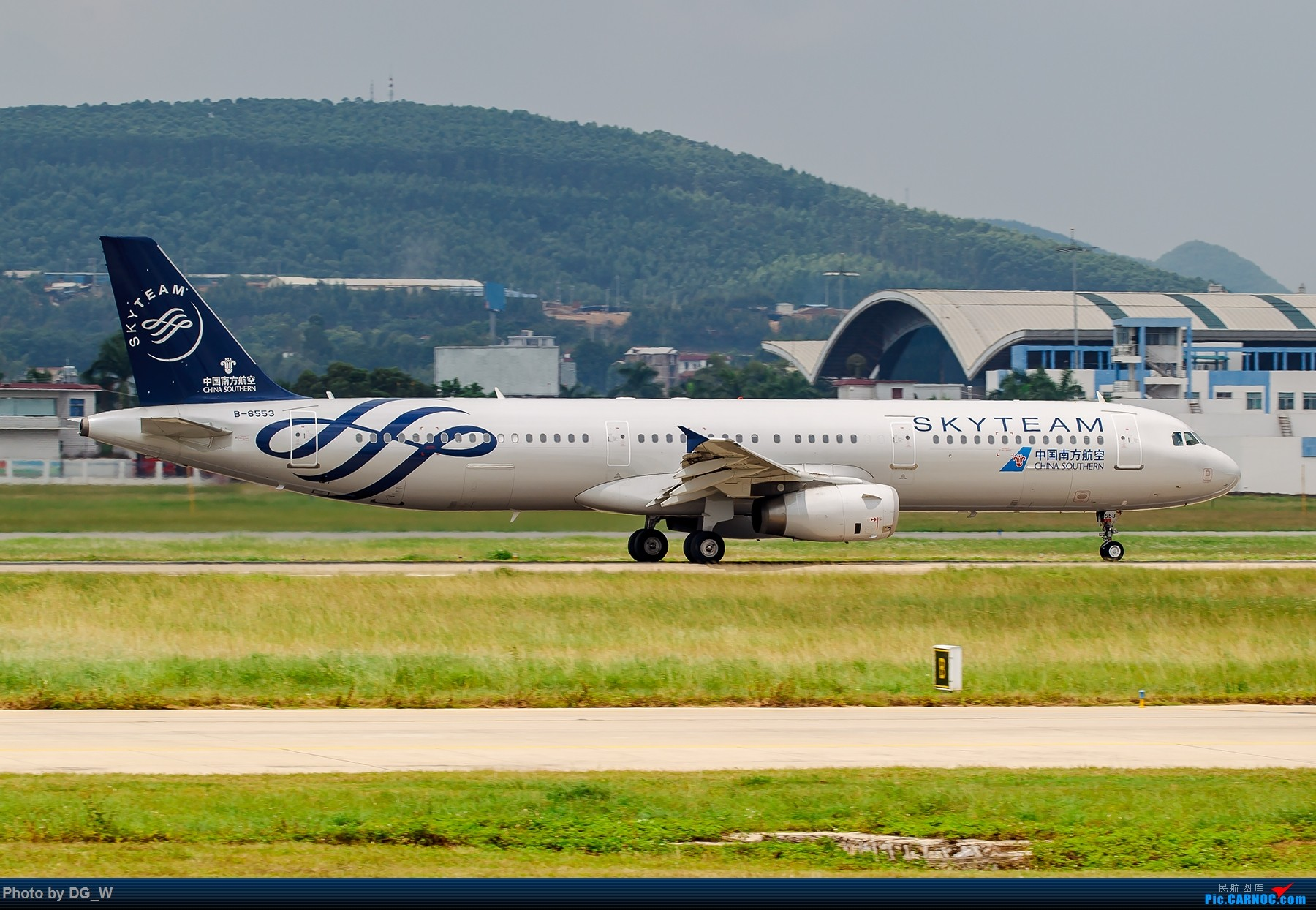 Re:[原创]【南宁飞友】天冷只能呆在家处理片子 AIRBUS A321-200 B-6553 中国南宁吴圩国际机场