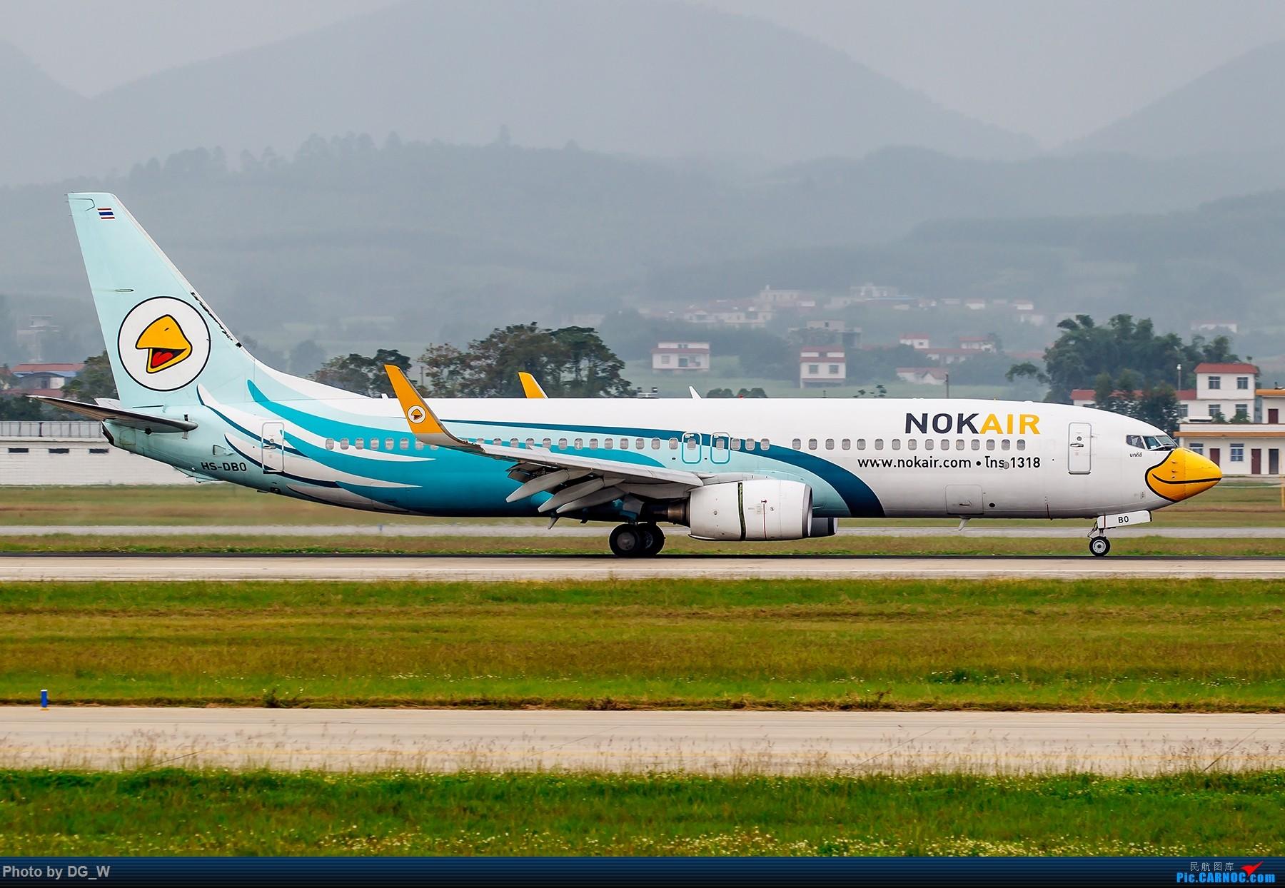 Re:[原创]【南宁飞友】天冷只能呆在家处理片子 BOEING 737-800 HS-DBO 中国南宁吴圩国际机场