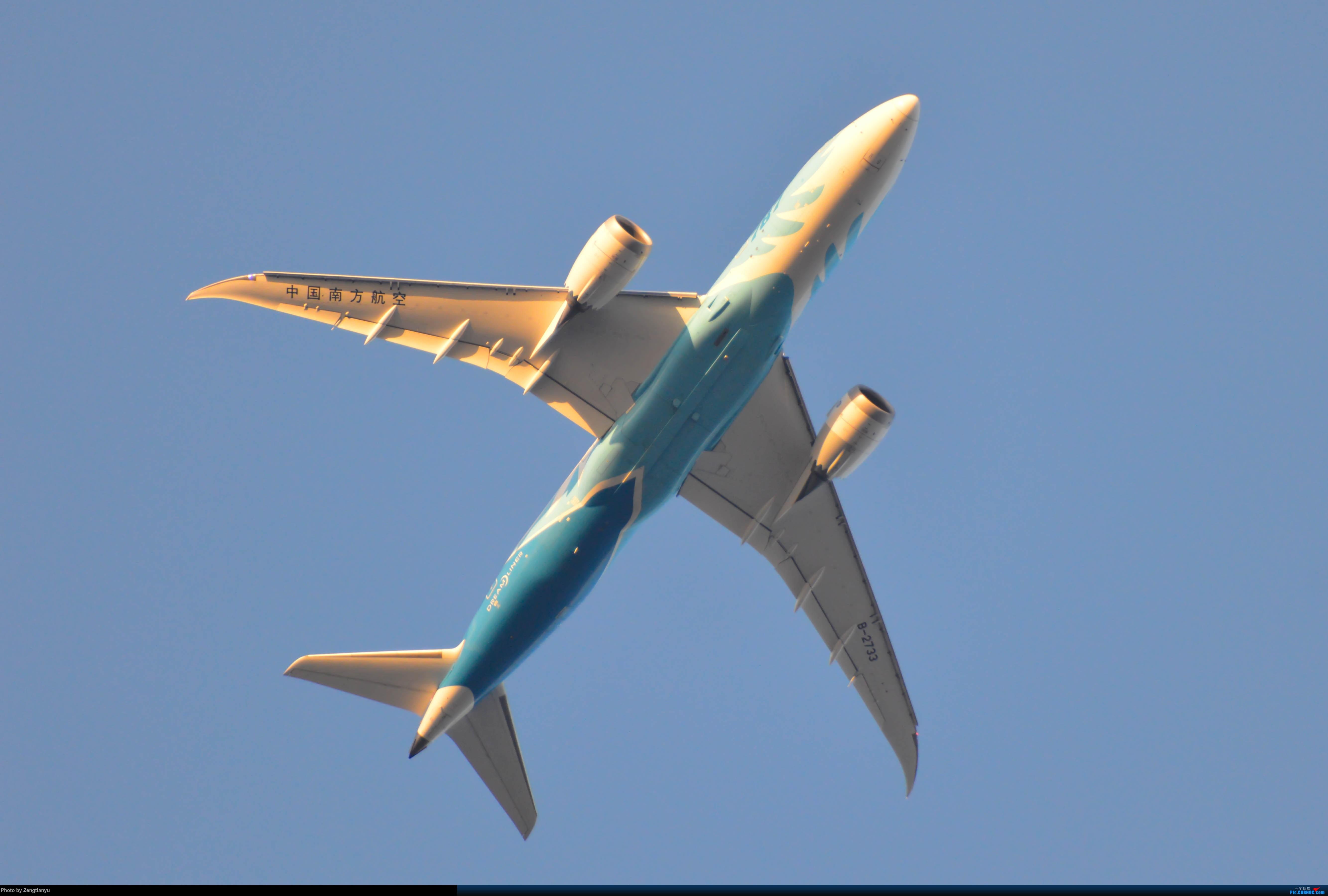 BOEING 787-8 B-2733 中国广州白云国际机场