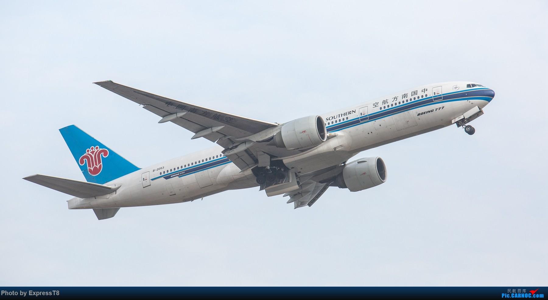 Re:[原创]11.26 CTU 向南运行 BOEING 777-200 B-2053 中国成都双流国际机场