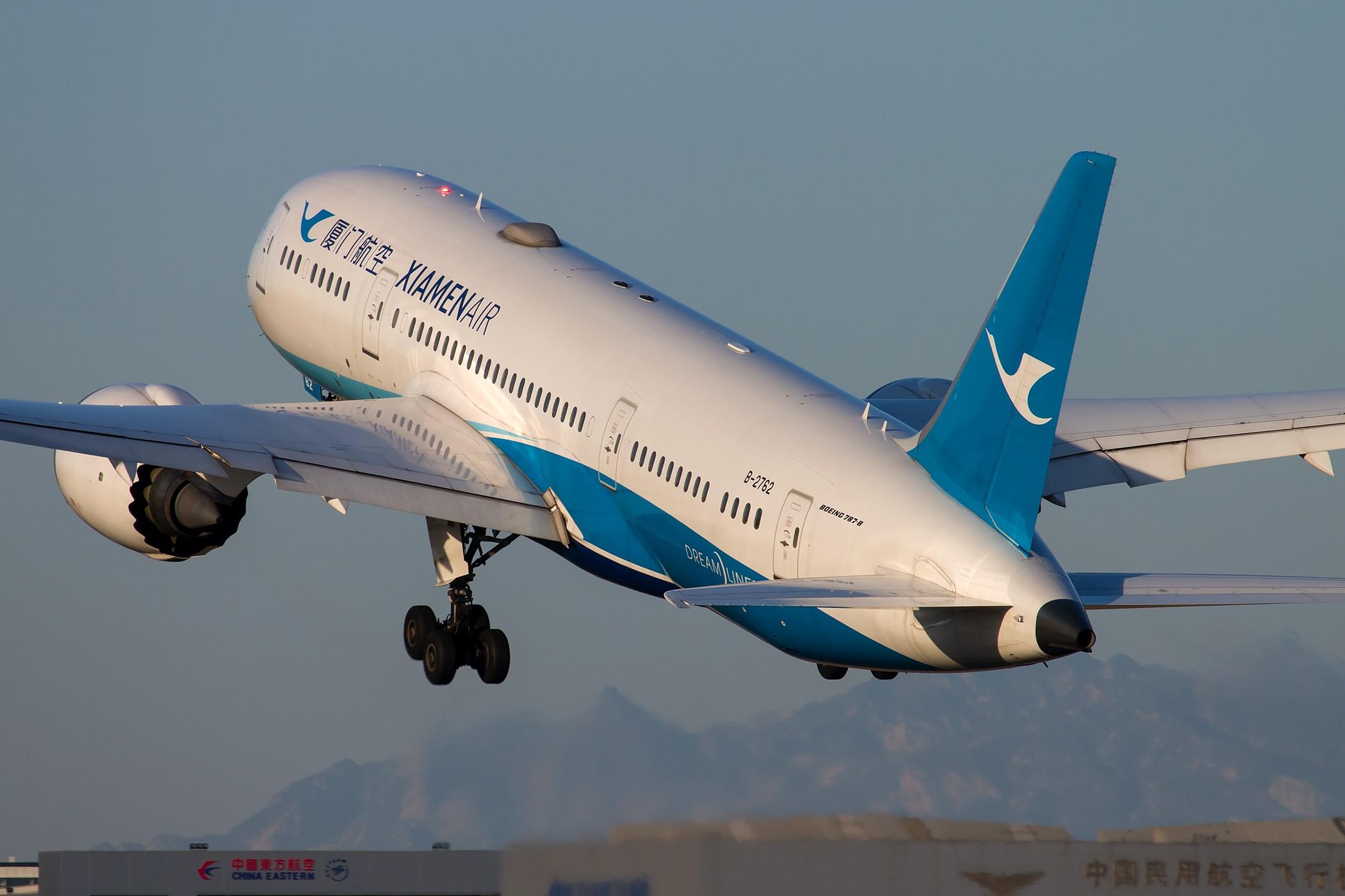 [原创][一图党] 厦门航空 B-2762 B787-8 Dreamliner 2100*1400 BOEING 787-8 B-2762 中国北京首都国际机场