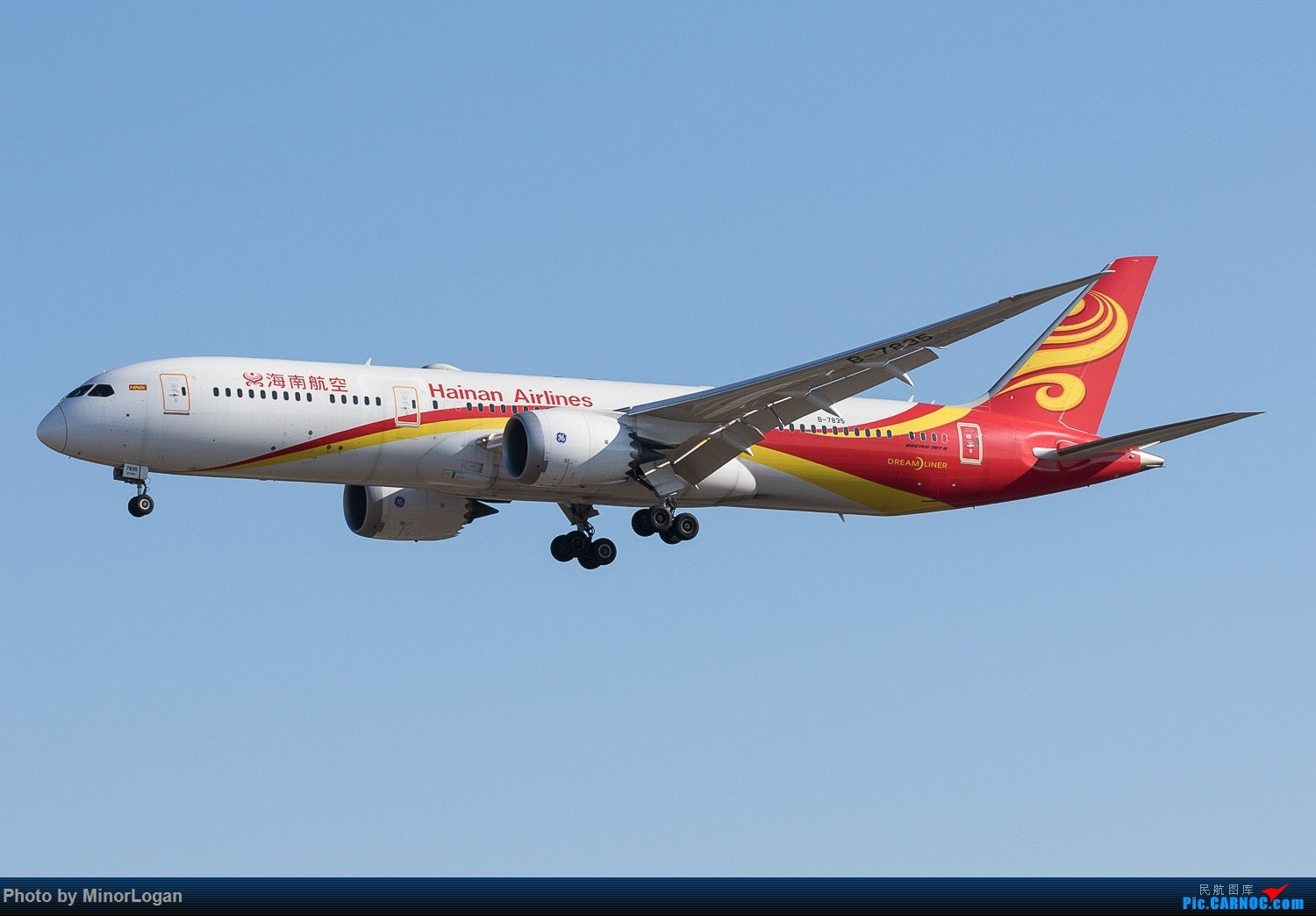 Re:[原创]好久没来了,冒个泡可好 BOEING 787-9 B-7835 中国北京首都国际机场