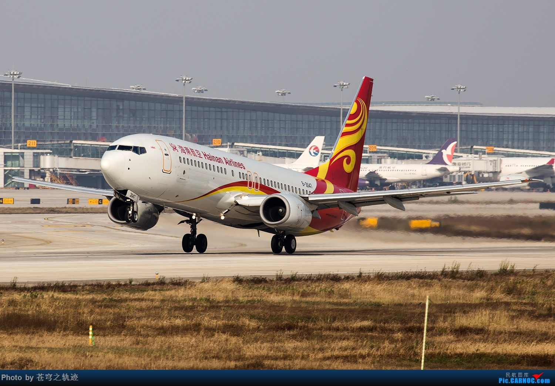 Re:[原创]【NKG】酷航788及其他25跑起降 BOEING 737-800 B-2647 中国南京禄口国际机场