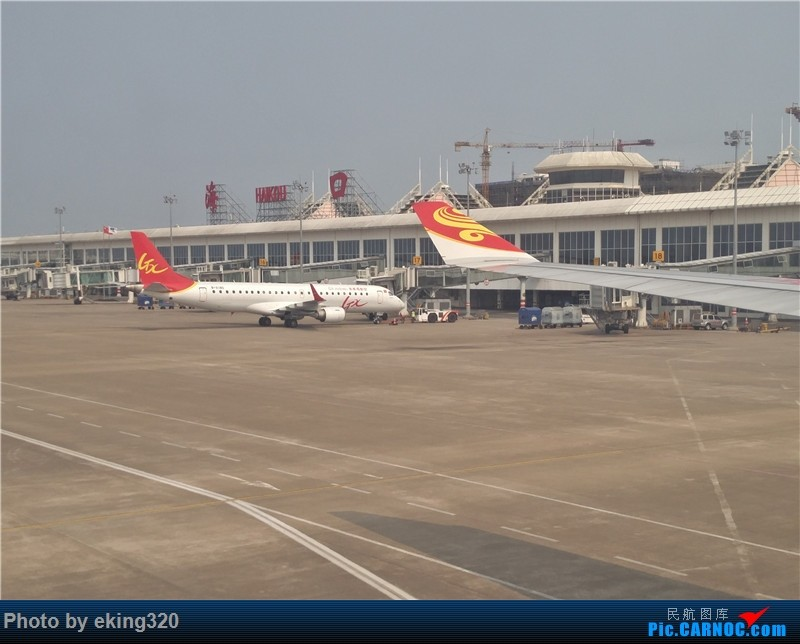 Re:[原创]补发2016年4月海南度假(CKG—HAK—CKG)海航A330初体验 EMBRAER E-190 B-3180 中国海口美兰国际机场