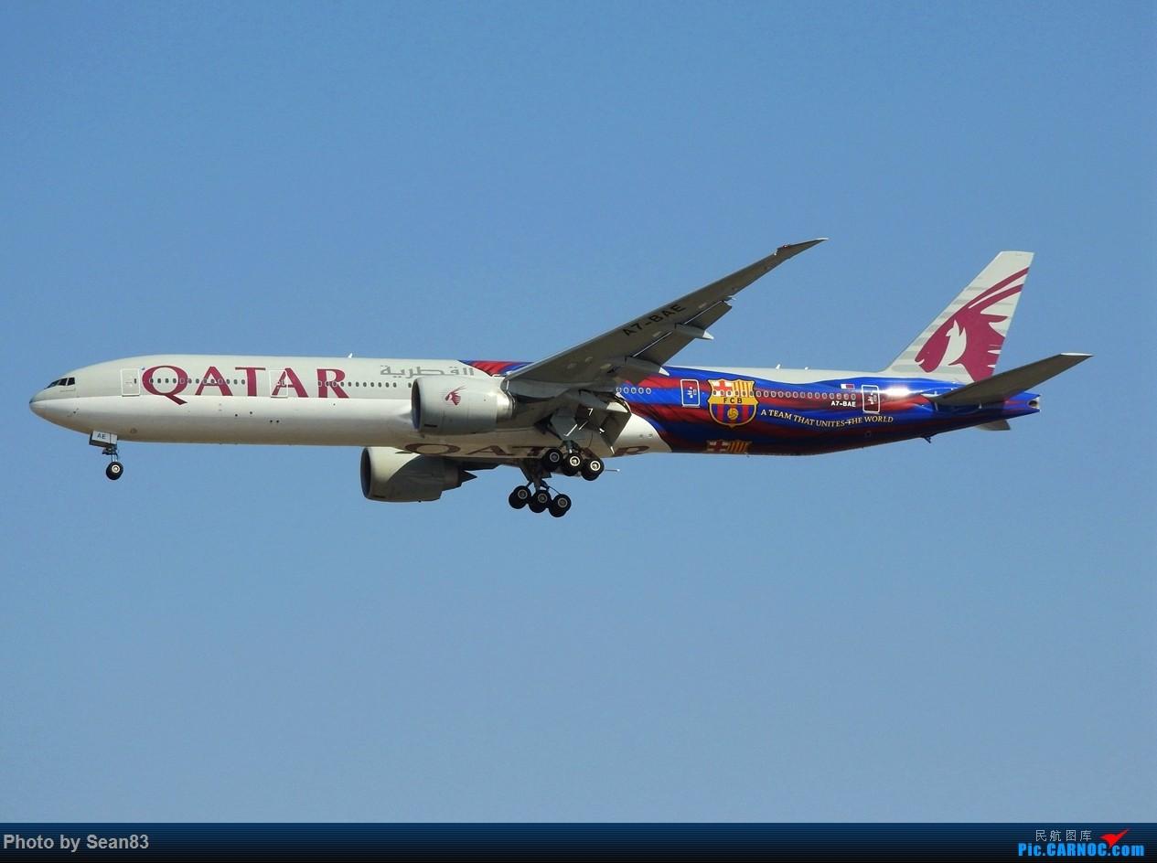 Re:[原创]出来冒个泡 BOEING 777-300ER A7-BAE 上海浦东国际机场