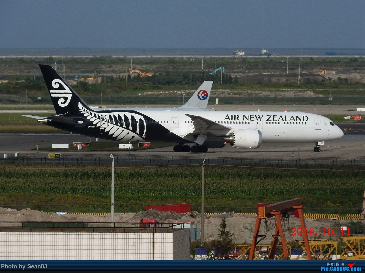 Re:[原创]出来冒个泡 BOEING 787-9 ZK-NZF 上海浦东国际机场