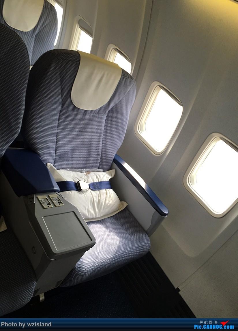公務艙,貌似沒有明珠經濟艙           圖片