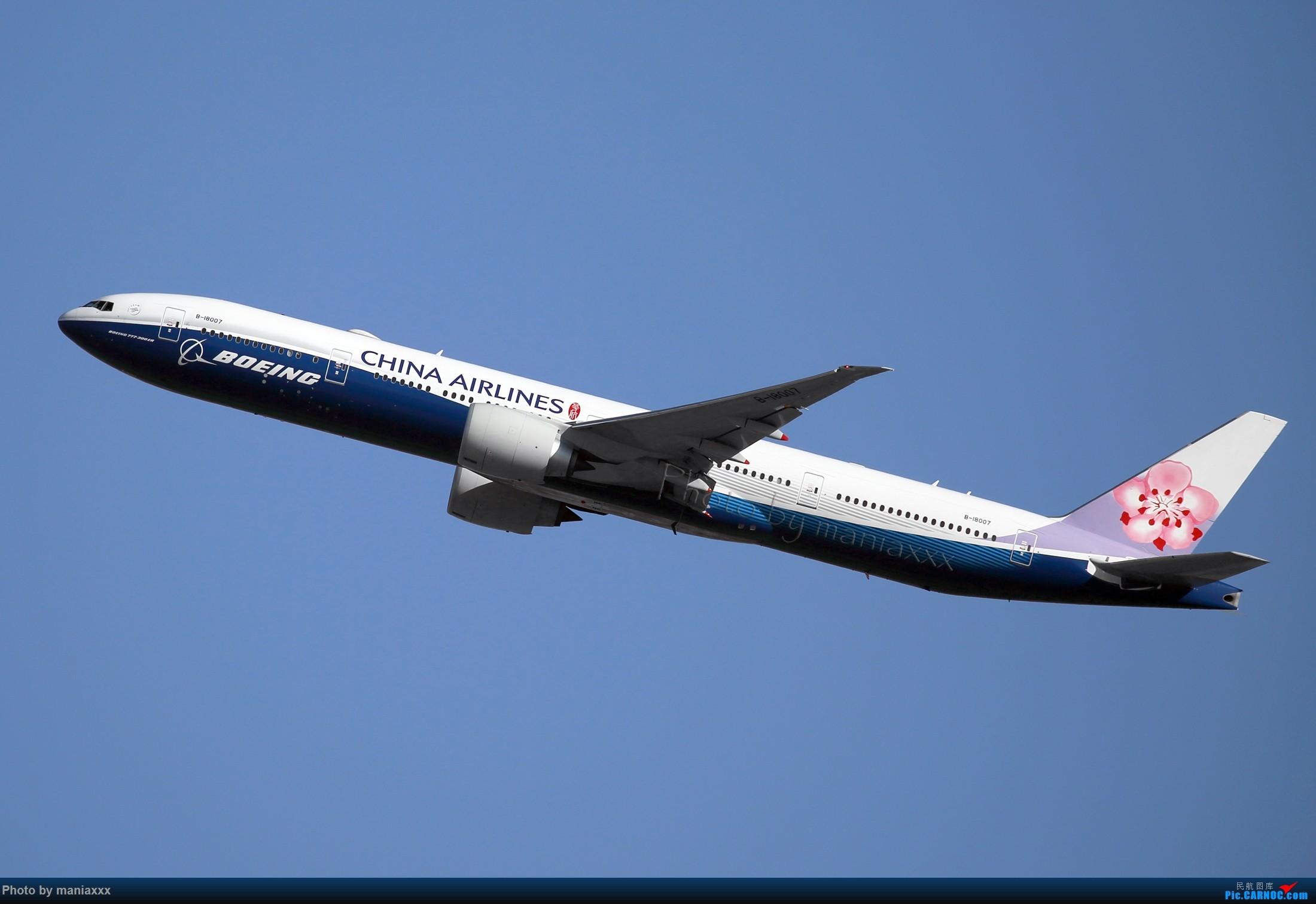 Re:[原创]得来不易的迎来送往~~~~华航蓝鲸~~~~~~ BOEING 777-300ER B-18007 中国北京首都国际机场