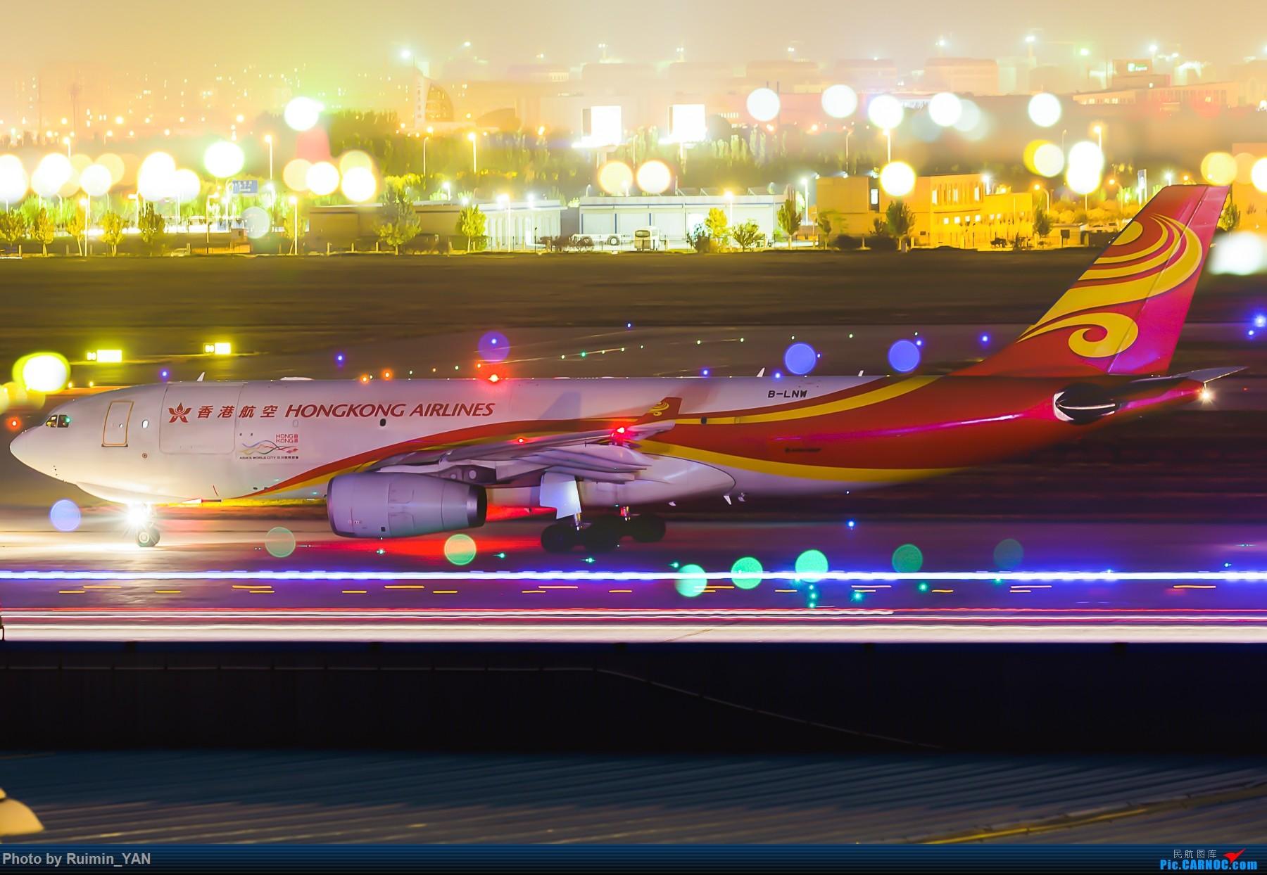【夜景】【TSN】香港航空卡狗(HX)创意多重曝光夜拍,烂片快吐槽