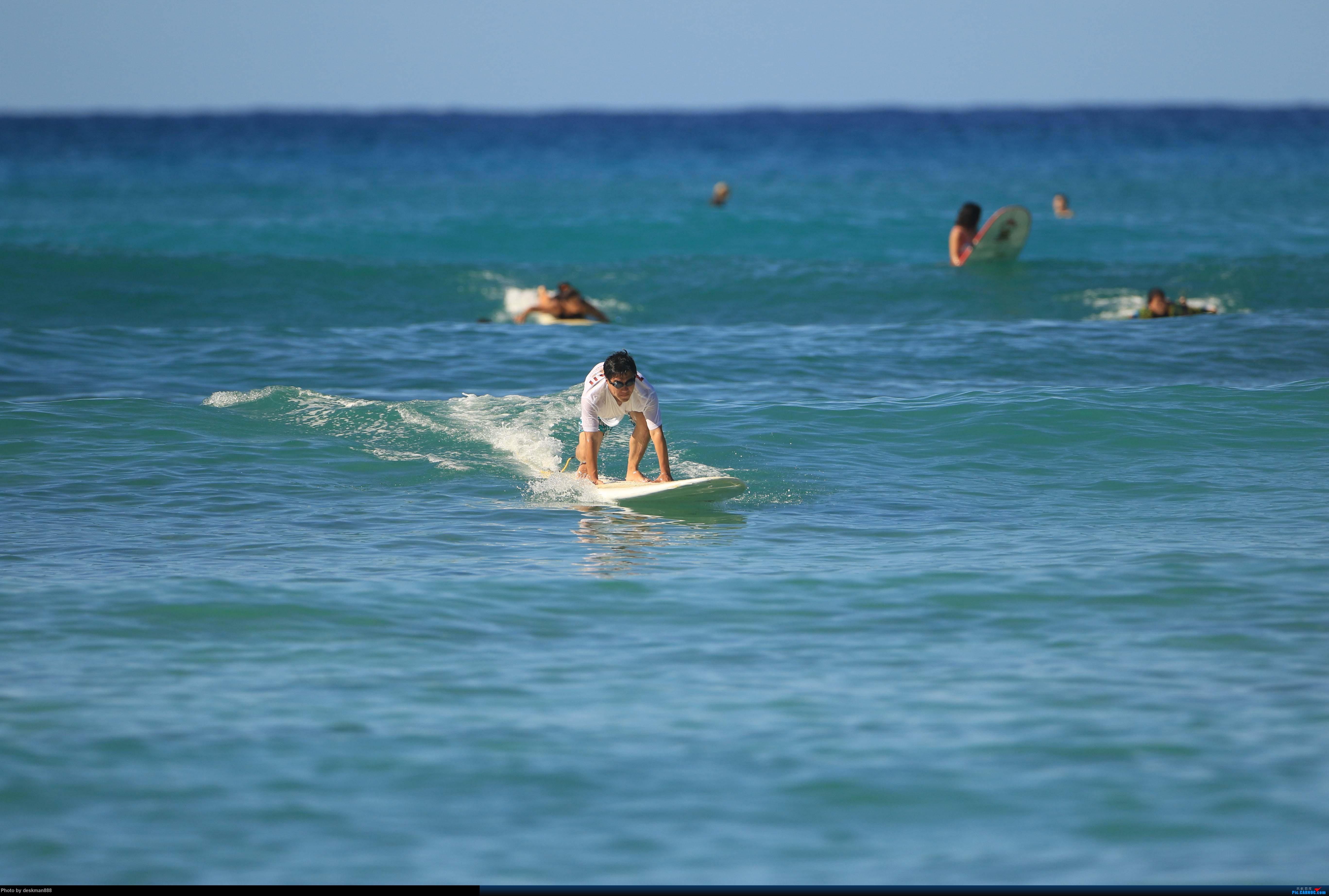 >>[原创]阳光,沙滩,碧海,椰子树——国庆夏威夷之行(下)首次体验