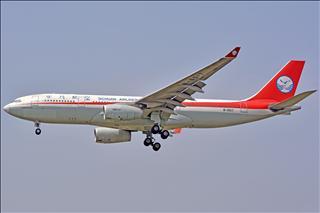 """【合肥飞友会·一图党】Sichuan Airlines B-6517 前""""五粮液""""涂装 A330-243"""