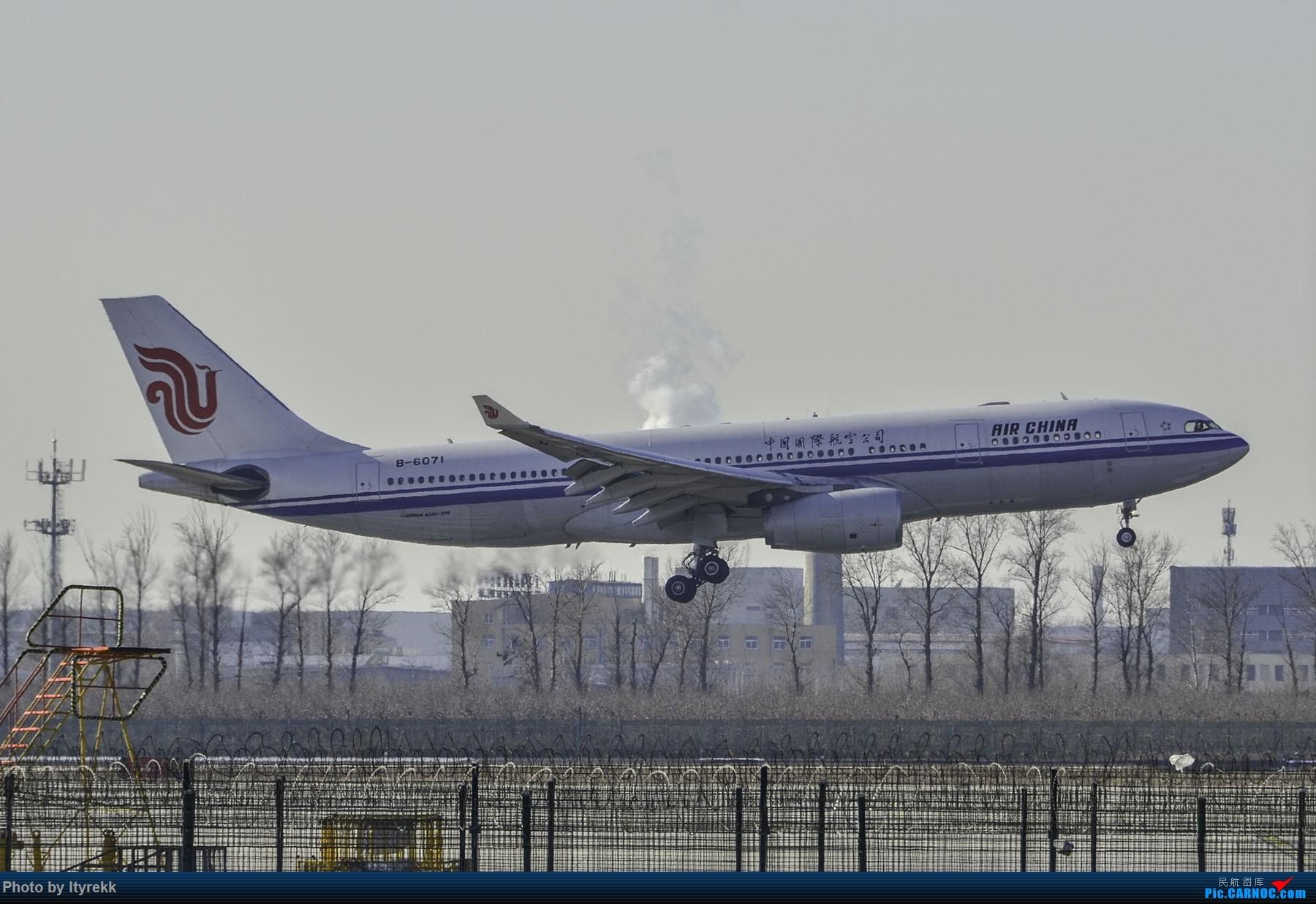 Re:[原创]PEK一日游 收获厦航首架789 B-1566等 AIRBUS A330-200 B-6071 中国北京首都国际机场