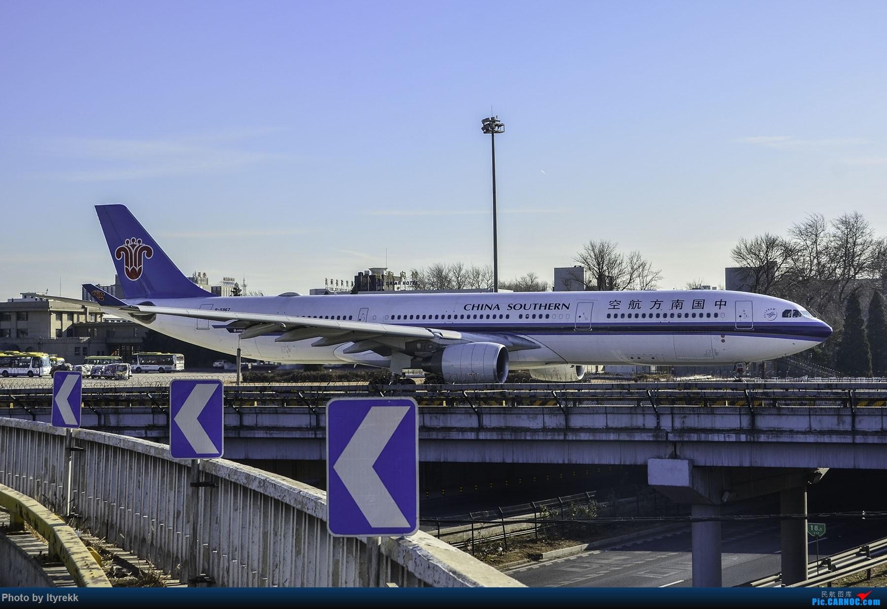 Re:[原创]PEK一日游 收获厦航首架789 B-1566等 AIRBUS A330-300 B-5967 中国北京首都国际机场