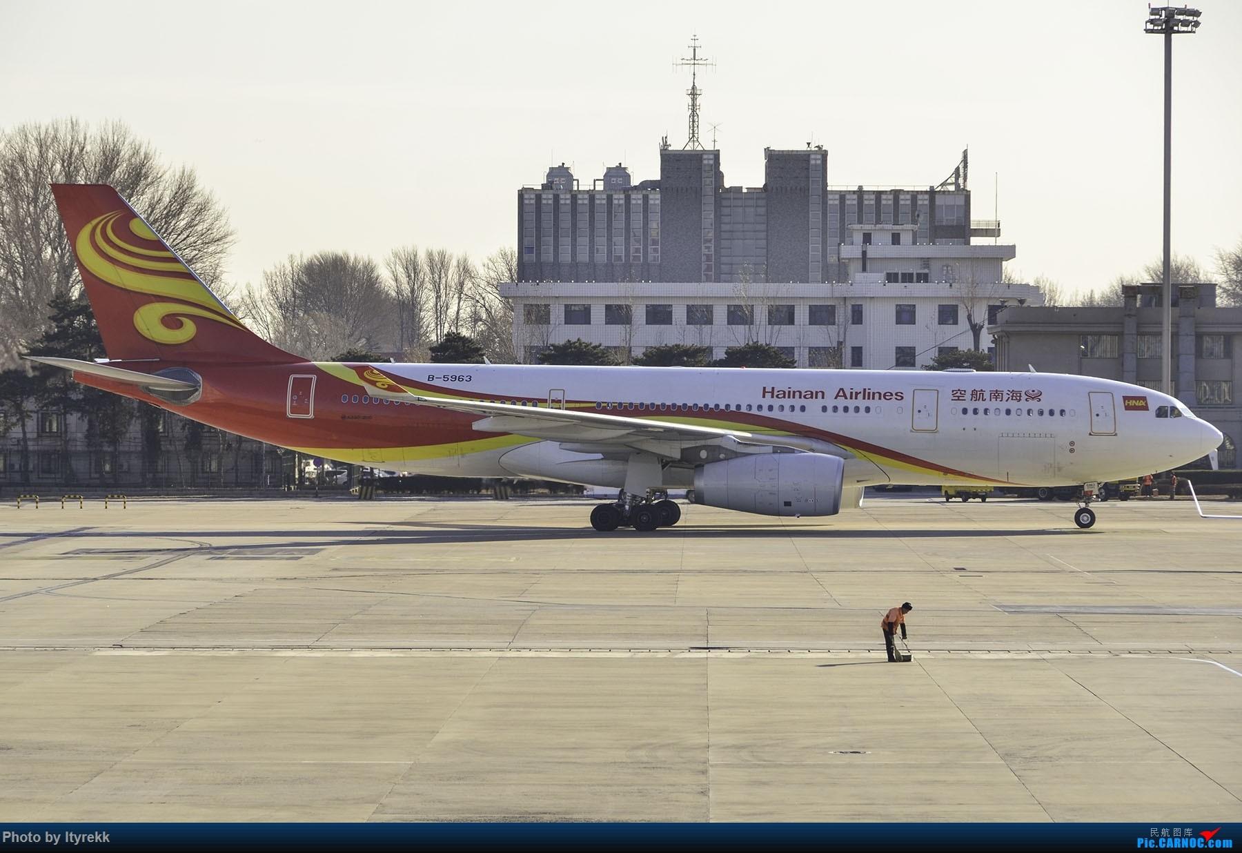 Re:[原创]PEK一日游 收获厦航首架789 B-1566等 AIRBUS A330-200 B-5963 中国北京首都国际机场