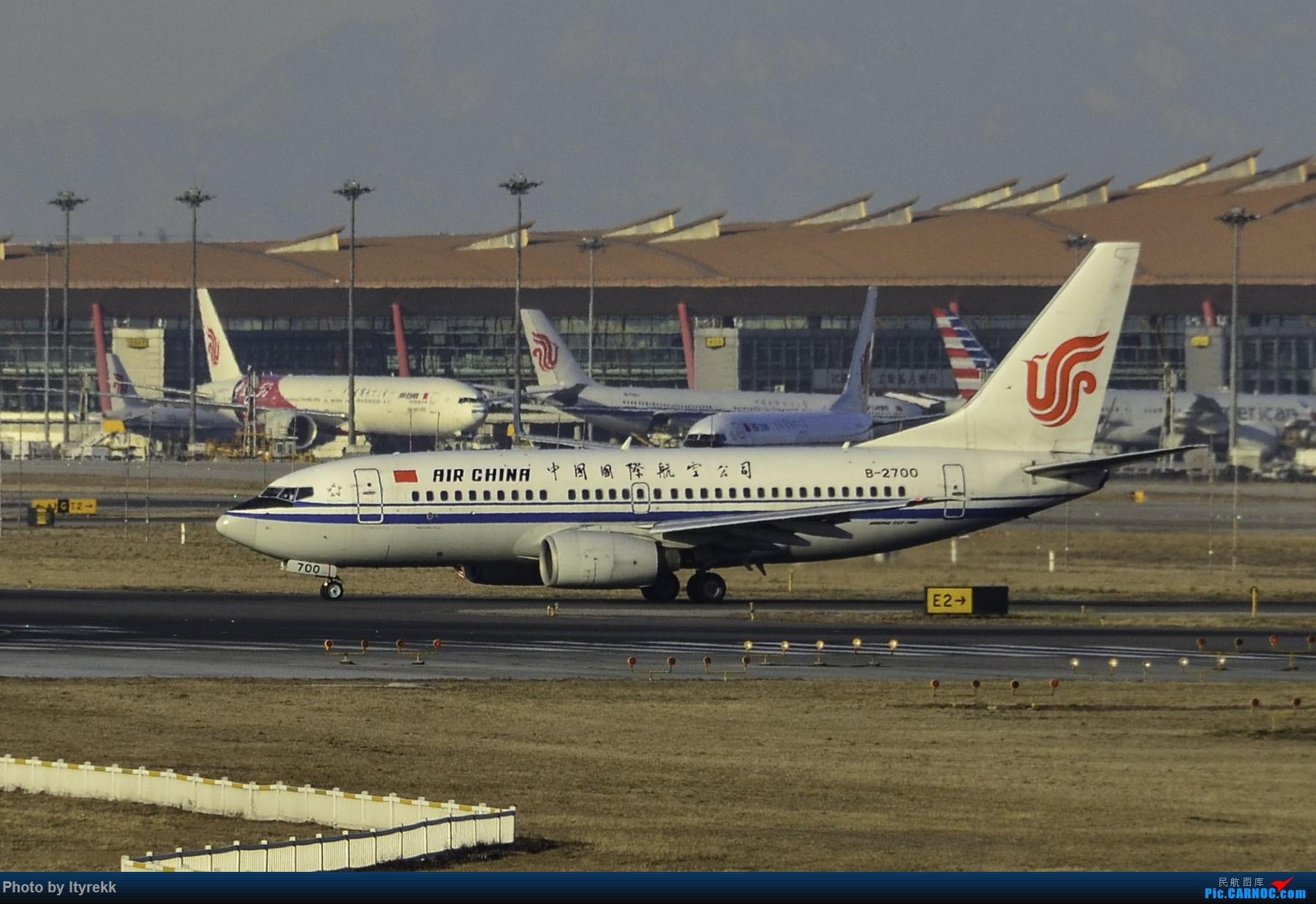 Re:[原创]PEK一日游 收获厦航首架789 B-1566等 BOEING 737-700 B-2700 中国北京首都国际机场