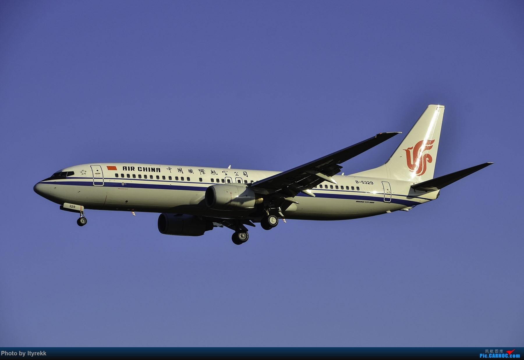 Re:[原创]PEK一日游 收获厦航首架789 B-1566等 BOEING 737-800 B-5329 中国北京首都国际机场