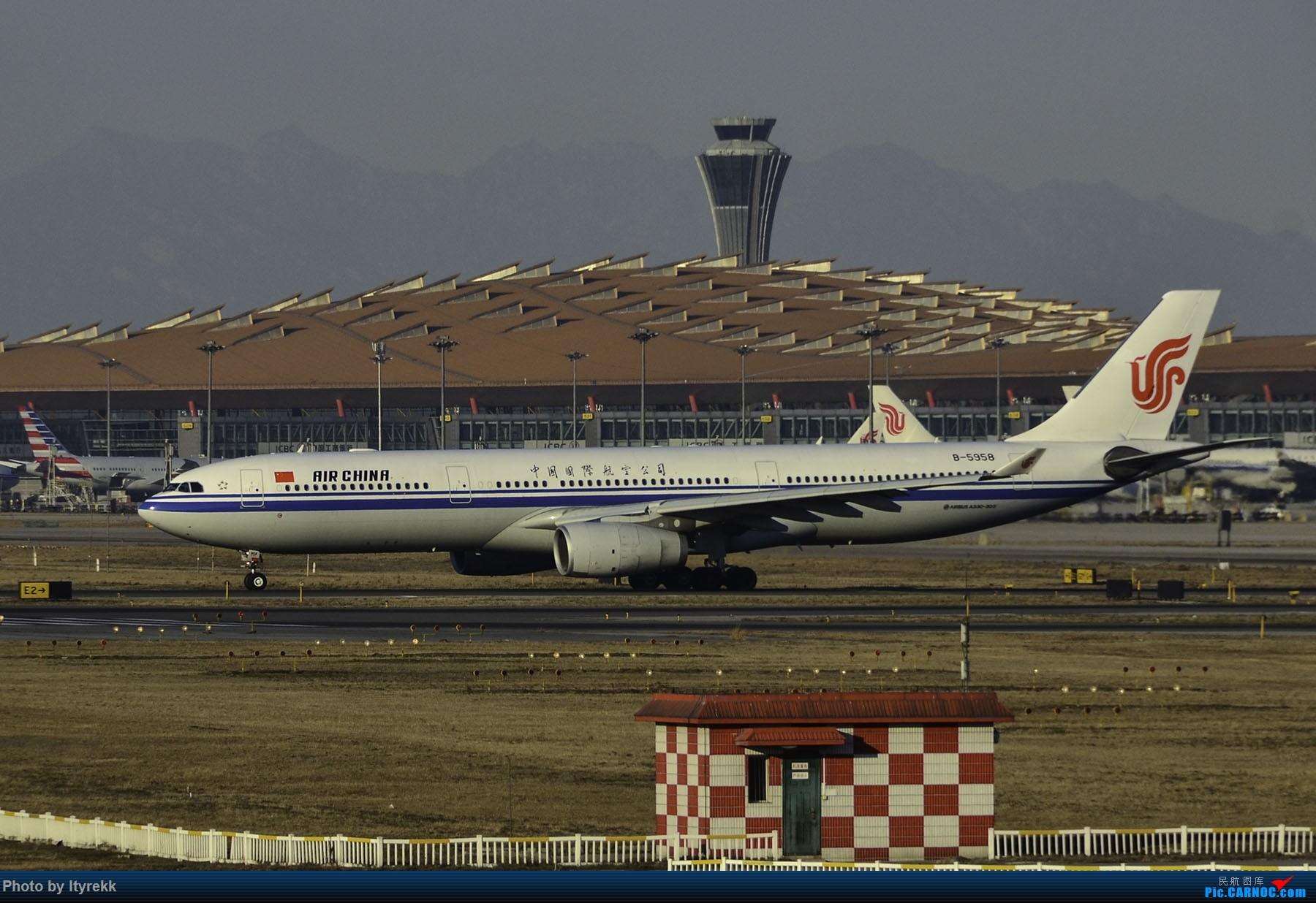 Re:[原创]PEK一日游 收获厦航首架789 B-1566等 AIRBUS A330-300 B-5958 中国北京首都国际机场