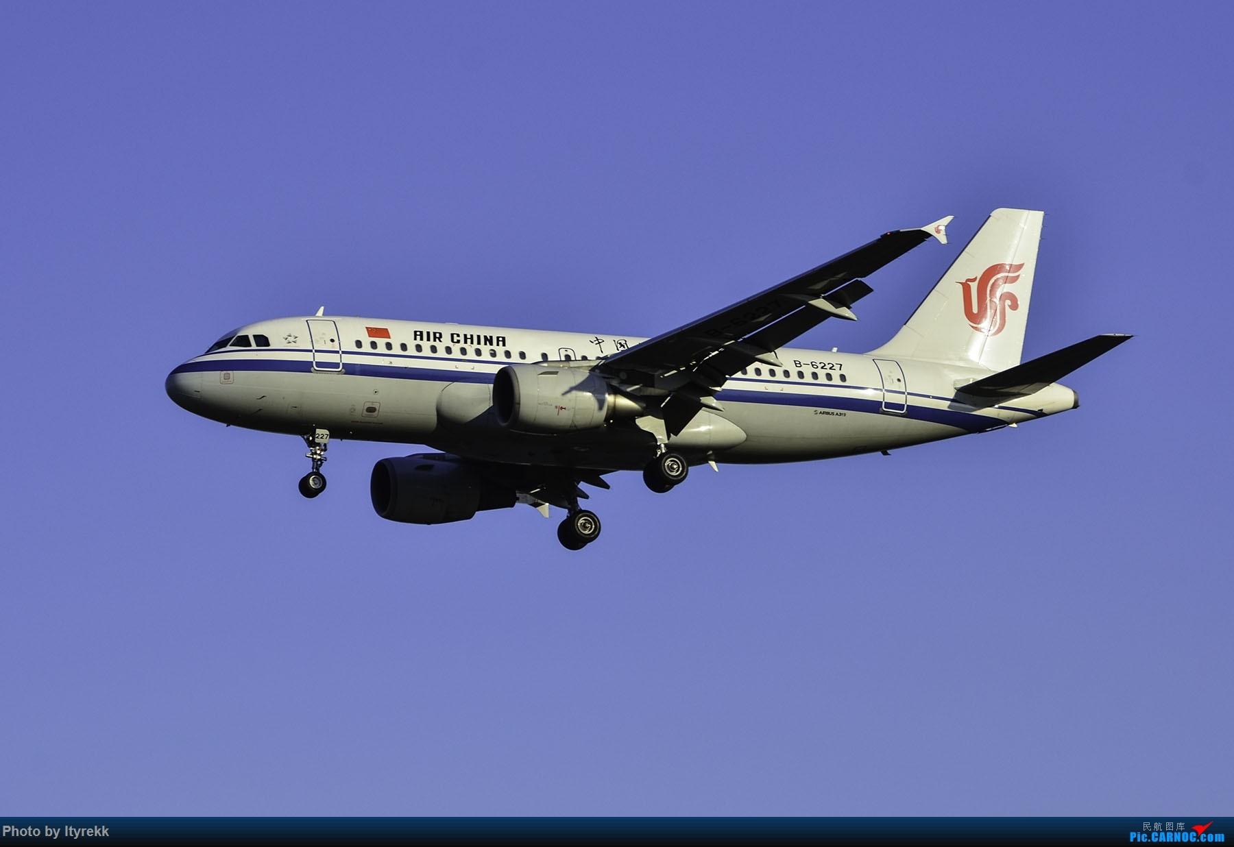 Re:[原创]PEK一日游 收获厦航首架789 B-1566等 AIRBUS A319-100 B-6227 中国北京首都国际机场