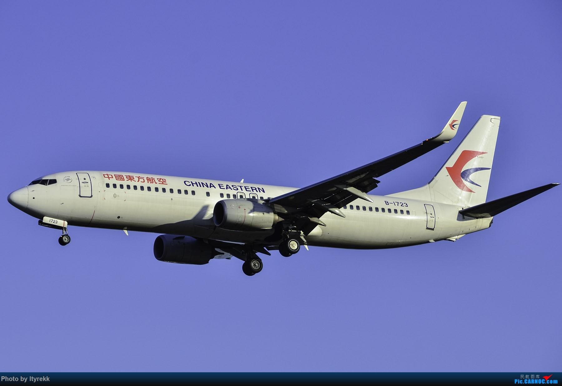 Re:[原创]PEK一日游 收获厦航首架789 B-1566等 BOEING 737-800 B-1723 中国北京首都国际机场