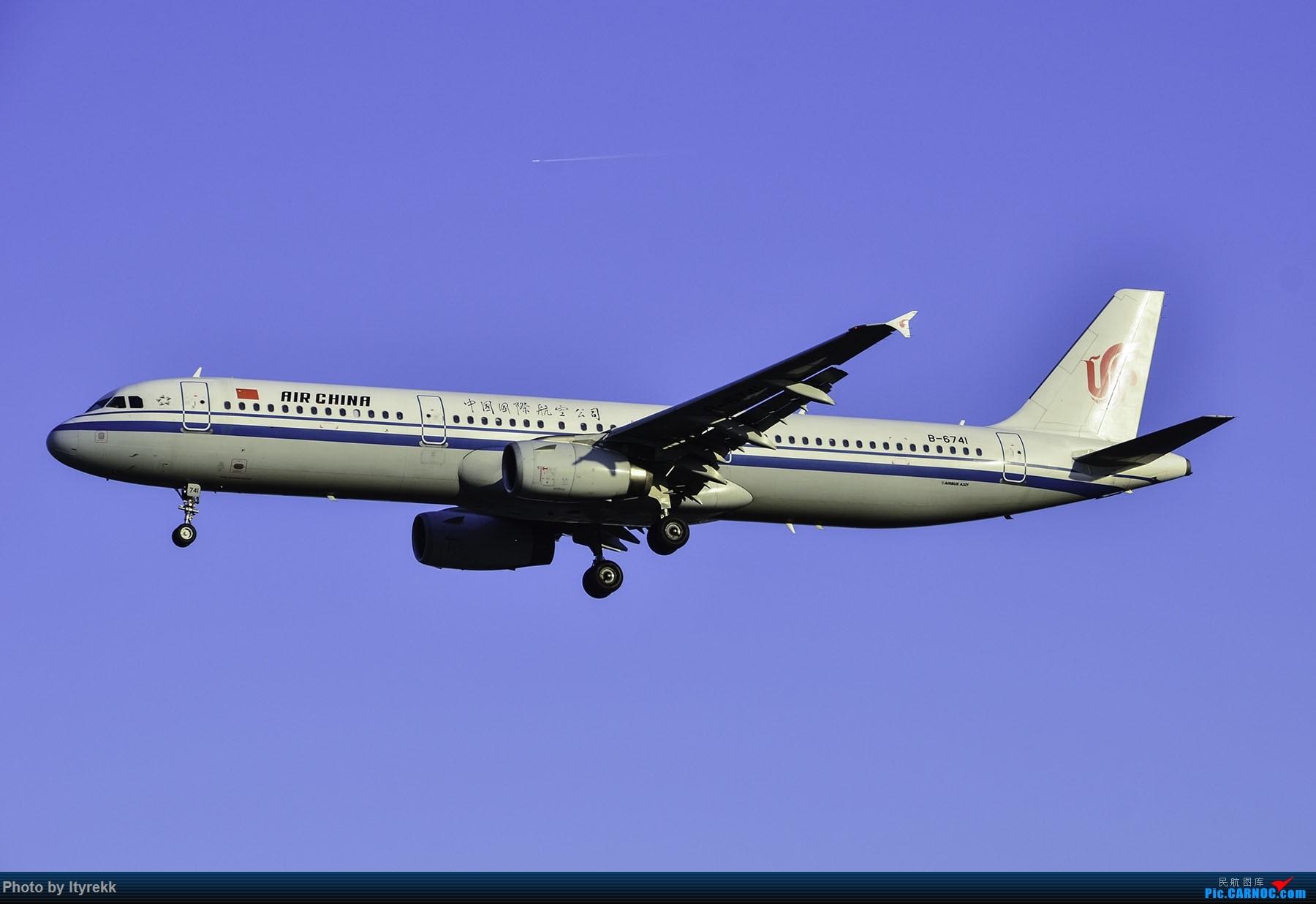 Re:[原创]PEK一日游 收获厦航首架789 B-1566等 AIRBUS A321-200 B-6741 中国北京首都国际机场