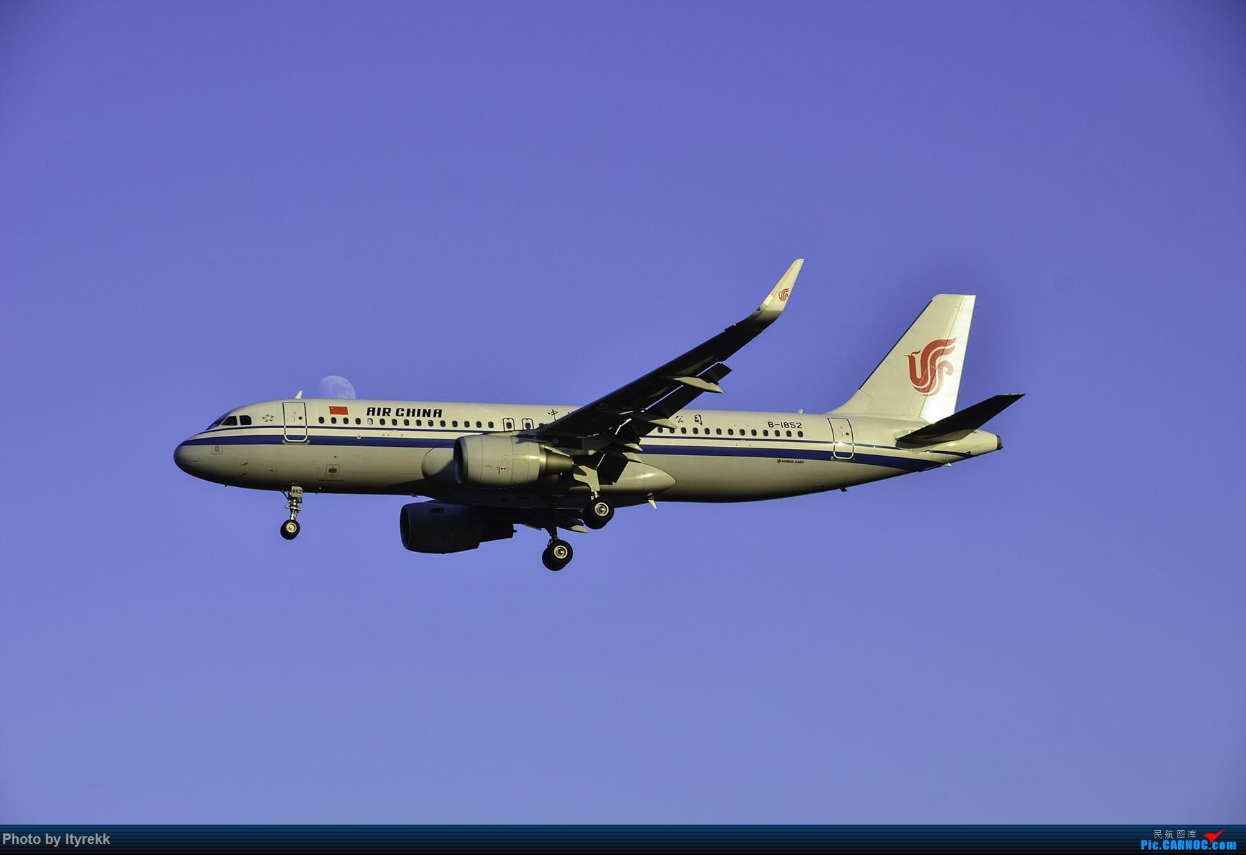 Re:[原创]PEK一日游 收获厦航首架789 B-1566等 AIRBUS A320-200 B-1852 中国北京首都国际机场