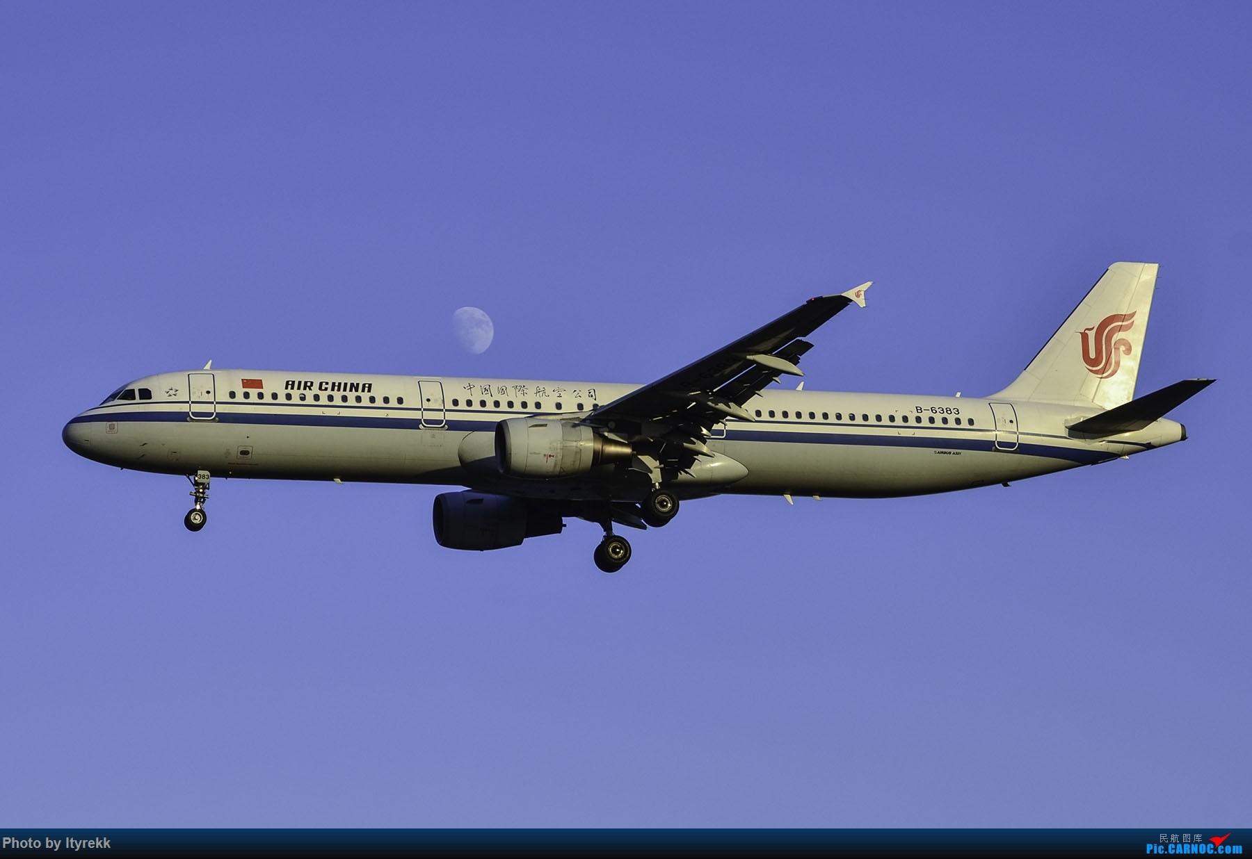 Re:[原创]PEK一日游 收获厦航首架789 B-1566等 AIRBUS A321-200 B-6383 中国北京首都国际机场