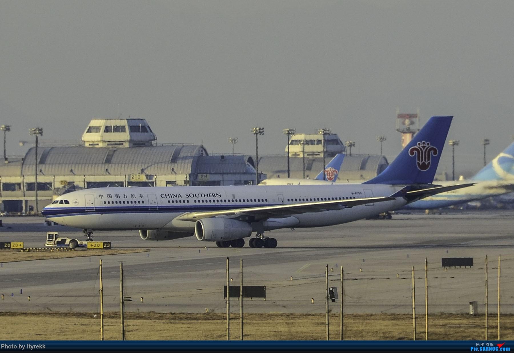 Re:[原创]PEK一日游 收获厦航首架789 B-1566等 AIRBUS A330-200 B-6059 中国北京首都国际机场