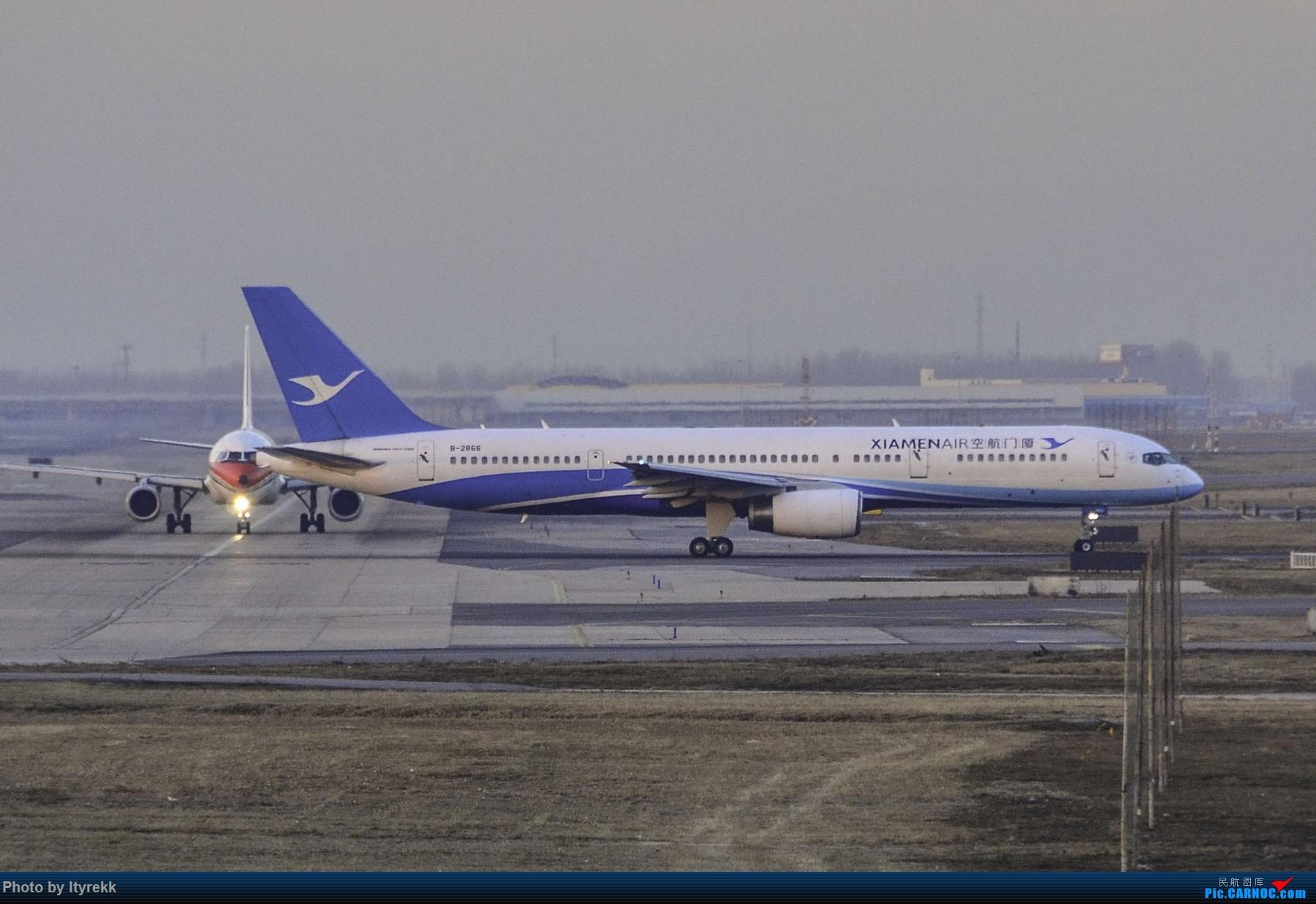 Re:[原创]PEK一日游 收获厦航首架789 B-1566等 BOEING 757-200 B-2866 中国北京首都国际机场