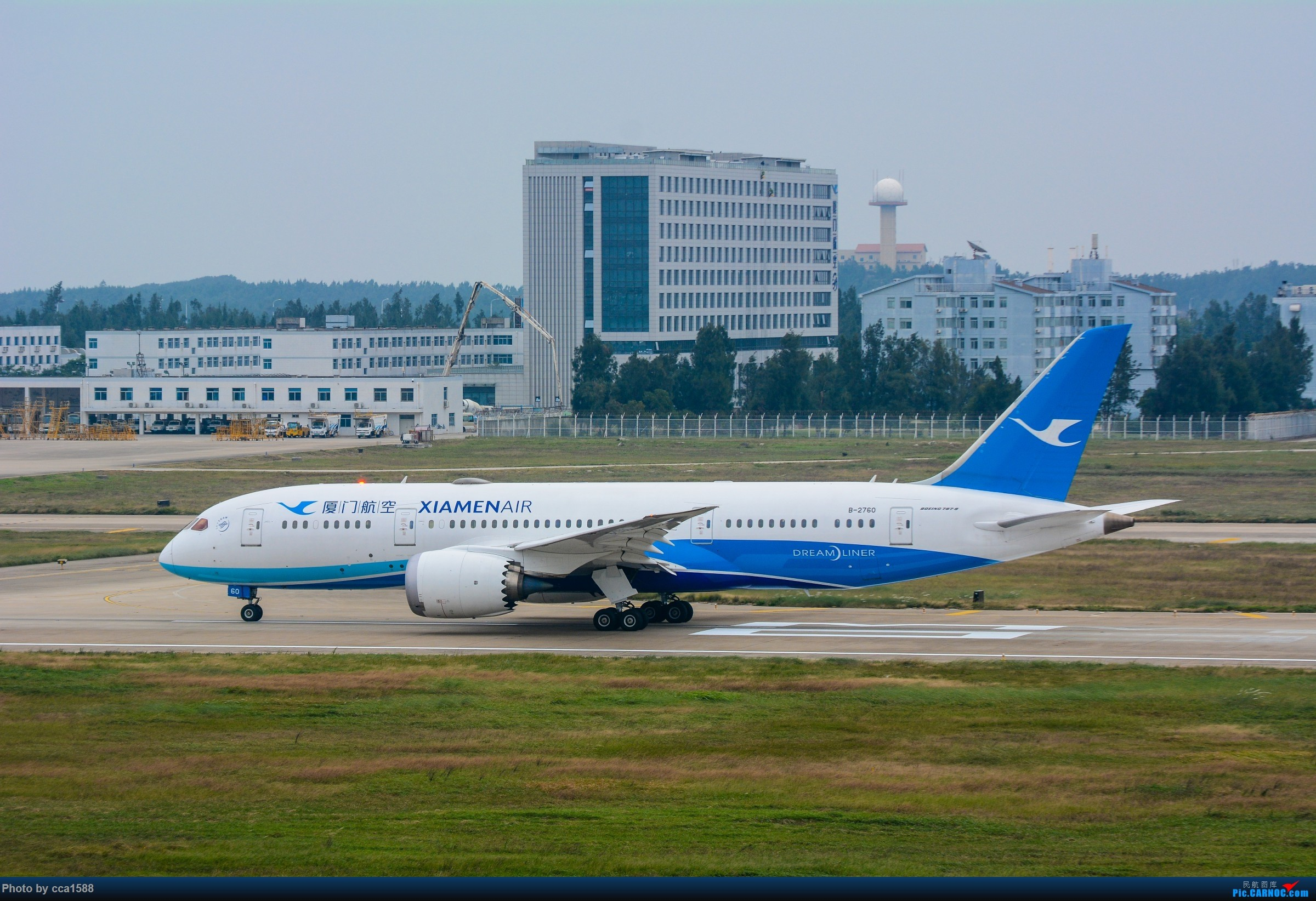"""Re:[原创]【福州飞友会】蹲点两天终于等到你~厦航首架787-9""""金砖梦想号"""" BOEING 787-8 B-2760 中国福州长乐国际机场"""