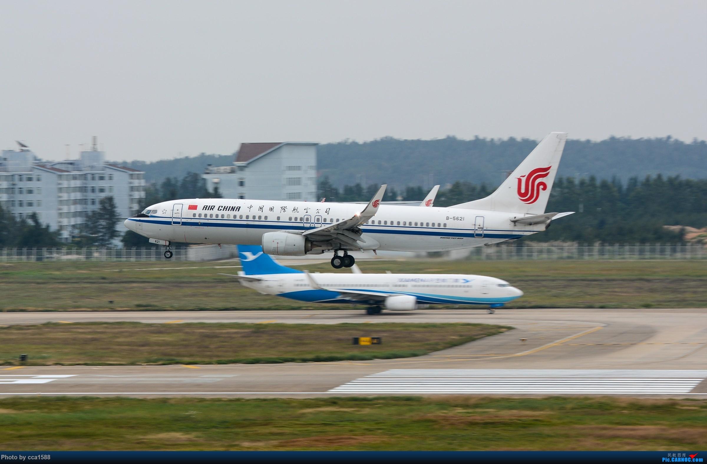 """Re:[原创]【福州飞友会】蹲点两天终于等到你~厦航首架787-9""""金砖梦想号"""" BOEING 737-800 B-5621 中国福州长乐国际机场"""