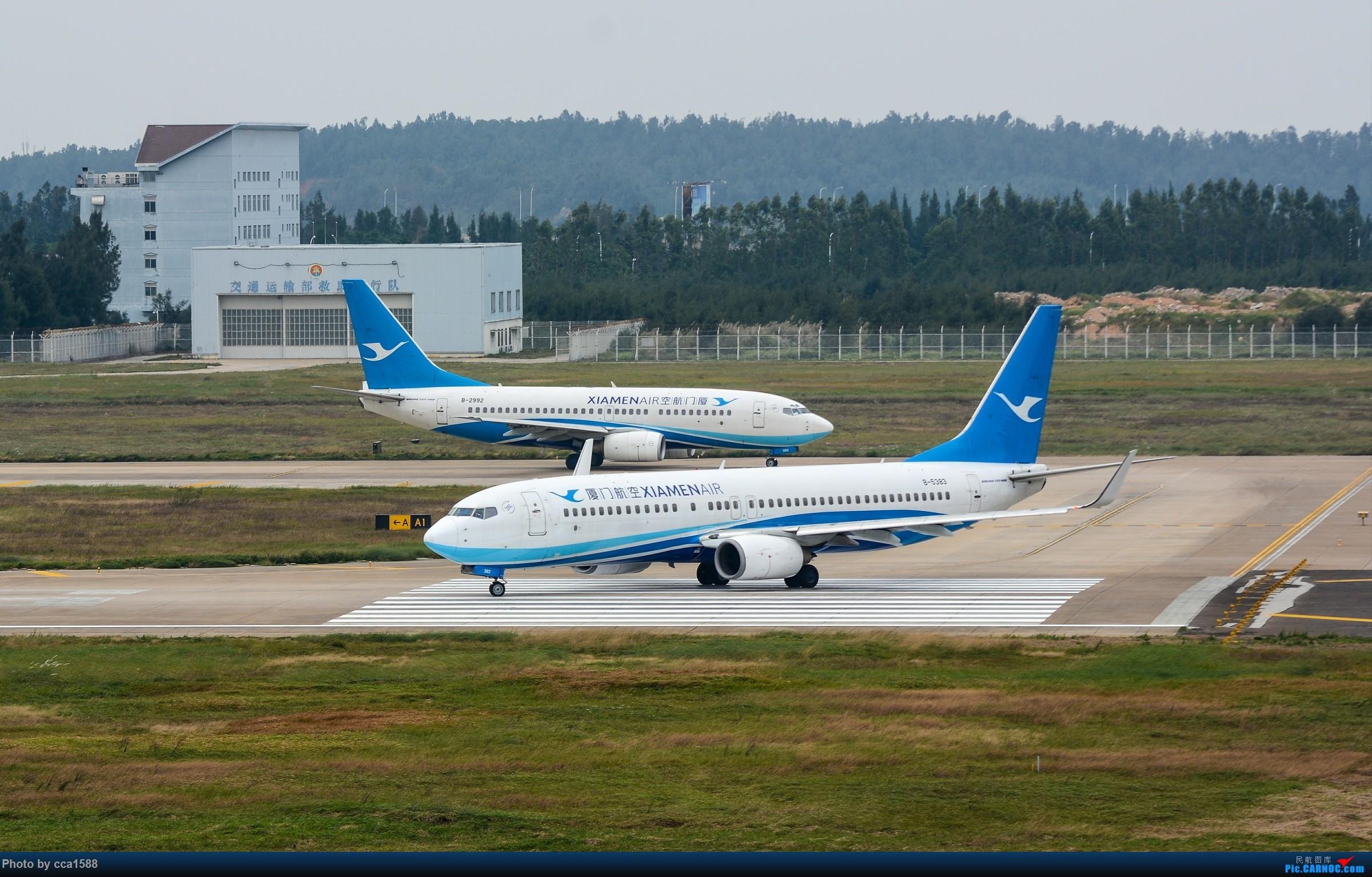 """Re:[原创]【福州飞友会】蹲点两天终于等到你~厦航首架787-9""""金砖梦想号"""" BOEING 737-800 B-5383 中国福州长乐国际机场"""
