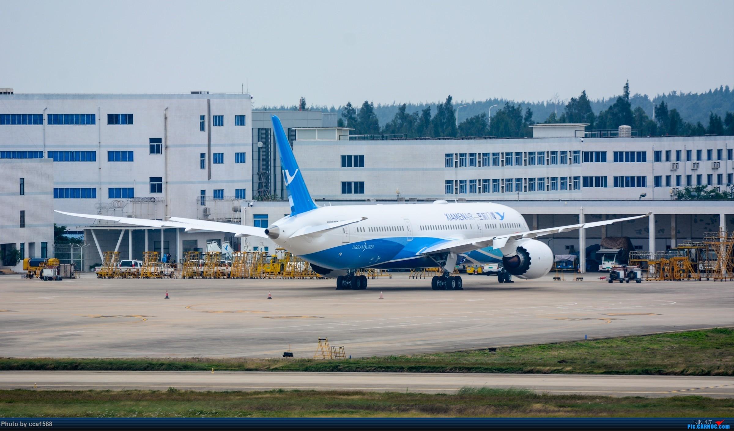 """Re:[原创]【福州飞友会】蹲点两天终于等到你~厦航首架787-9""""金砖梦想号"""" BOEING 787-9 B-1566 中国福州长乐国际机场"""
